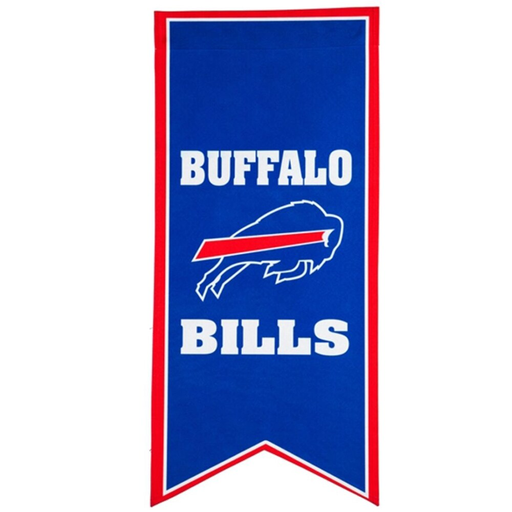 Buffalo Bills 12.5'' x 28'' Flag Banner