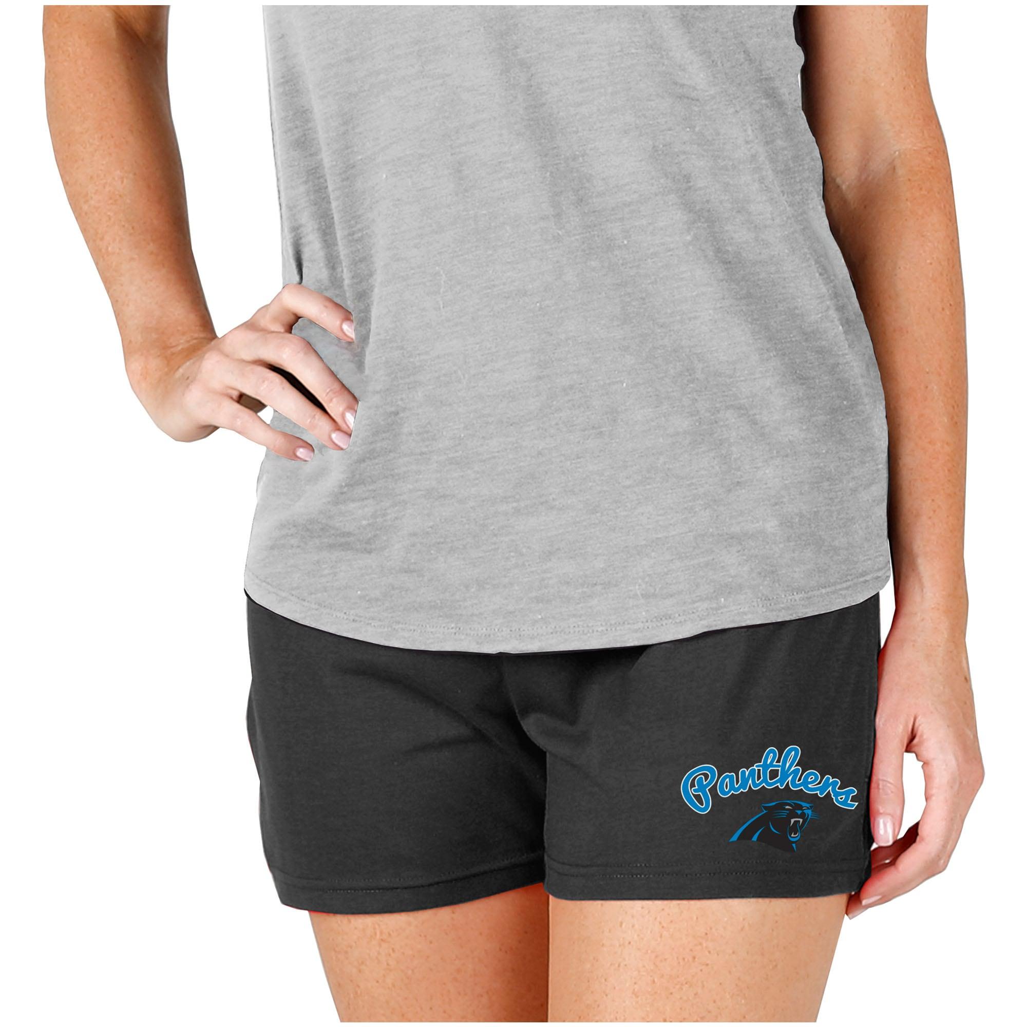 Carolina Panthers Concepts Sport Women's Knit Shorts - Charcoal