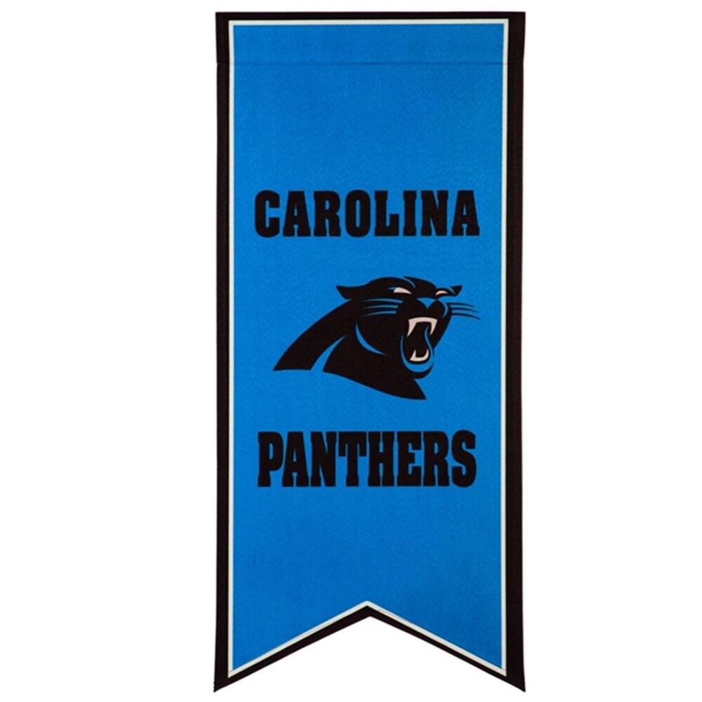 Carolina Panthers 12.5'' x 28'' Flag Banner