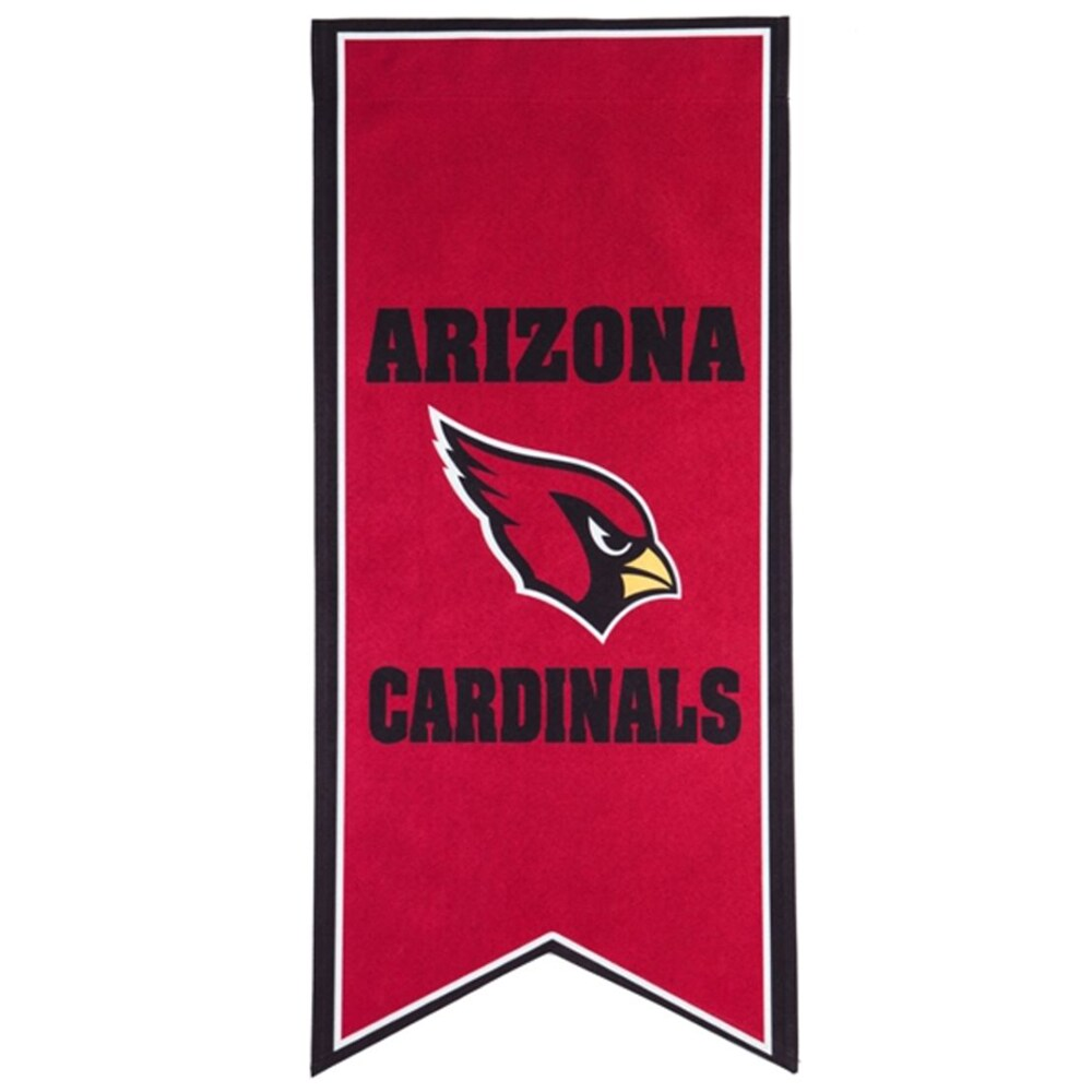 Arizona Cardinals 12.5'' x 28'' Flag Banner