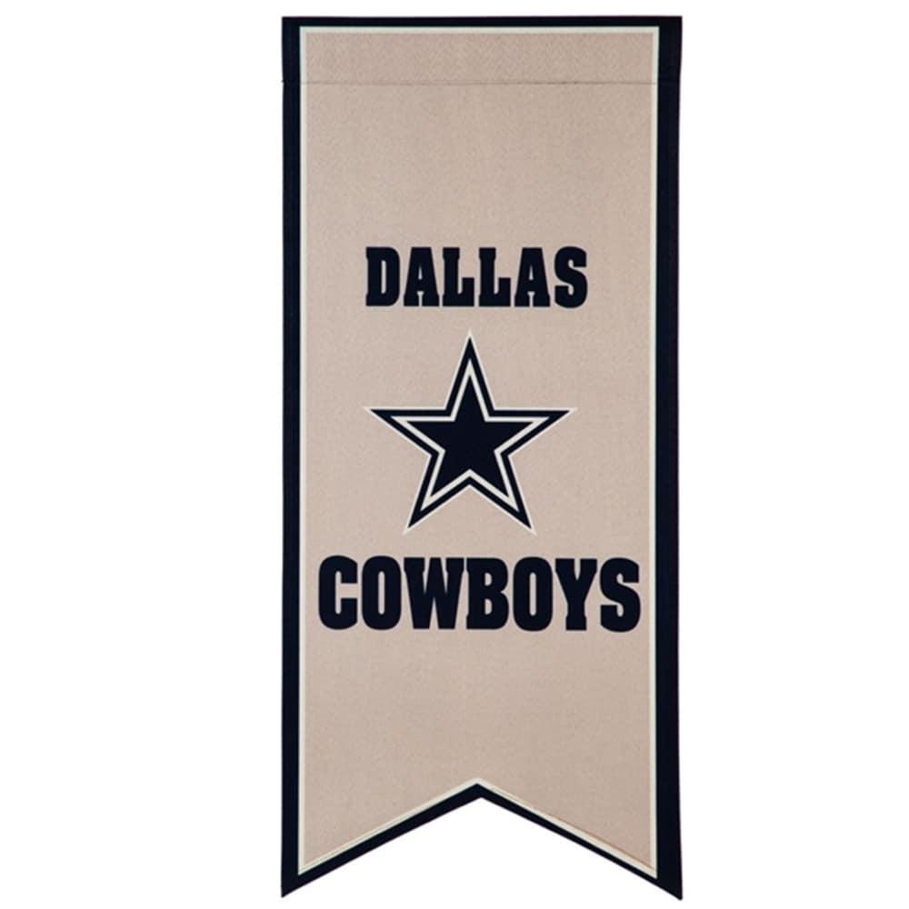 Dallas Cowboys 12.5'' x 28'' Flag Banner