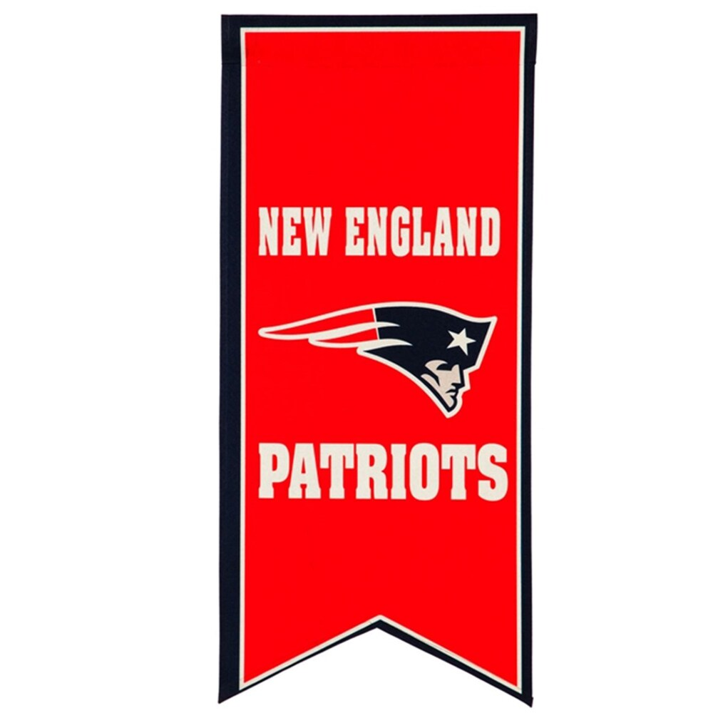 New England Patriots 12.5'' x 28'' Flag Banner