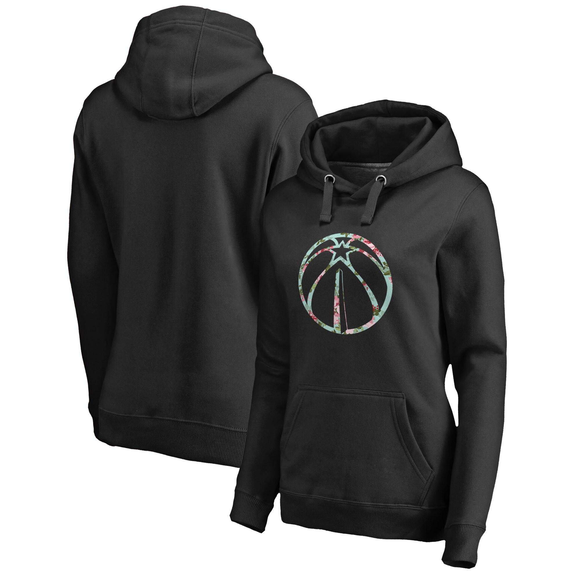 Washington Wizards Fanatics Branded Women's Lovely Pullover Hoodie - Black