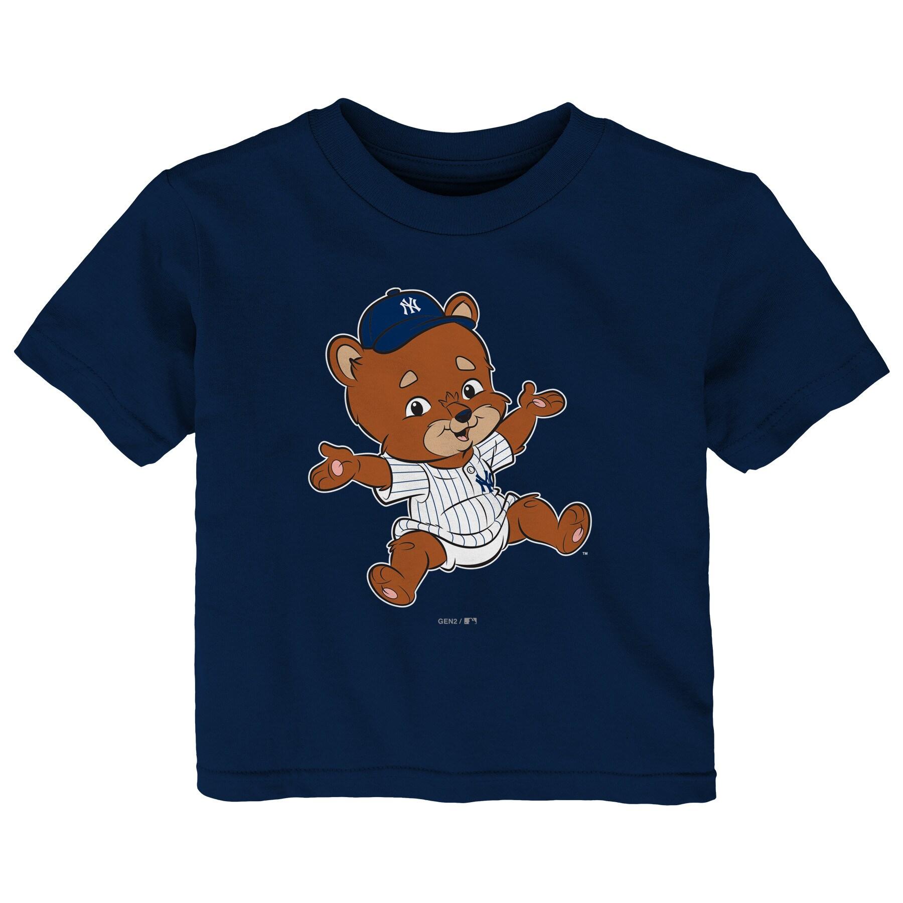 New York Yankees Infant Baby Mascot T-Shirt - Navy