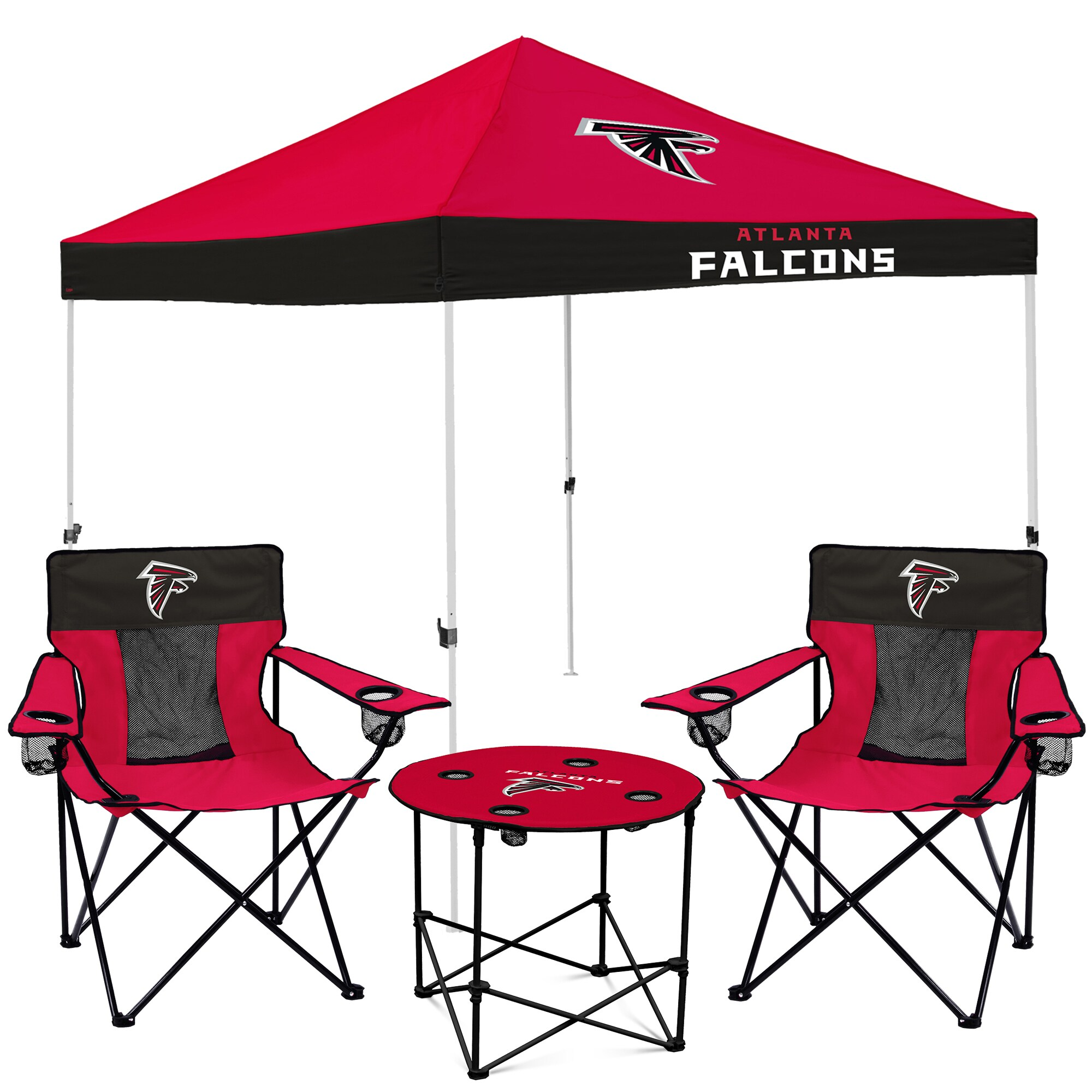 Atlanta Falcons Tailgate Canopy Tent, Table, & Chairs Set