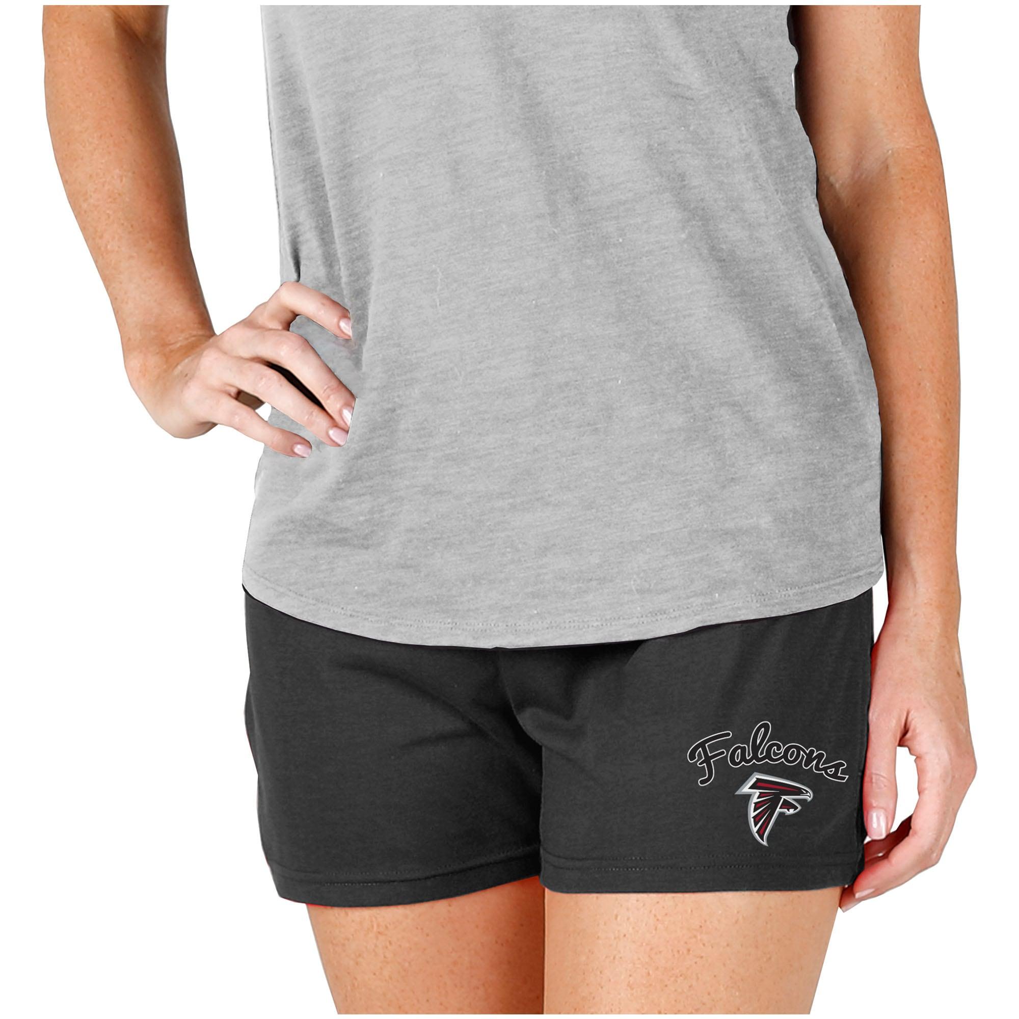 Atlanta Falcons Concepts Sport Women's Knit Shorts - Charcoal