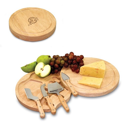 Miami Dolphins Circo Cheese Board & Tool Set