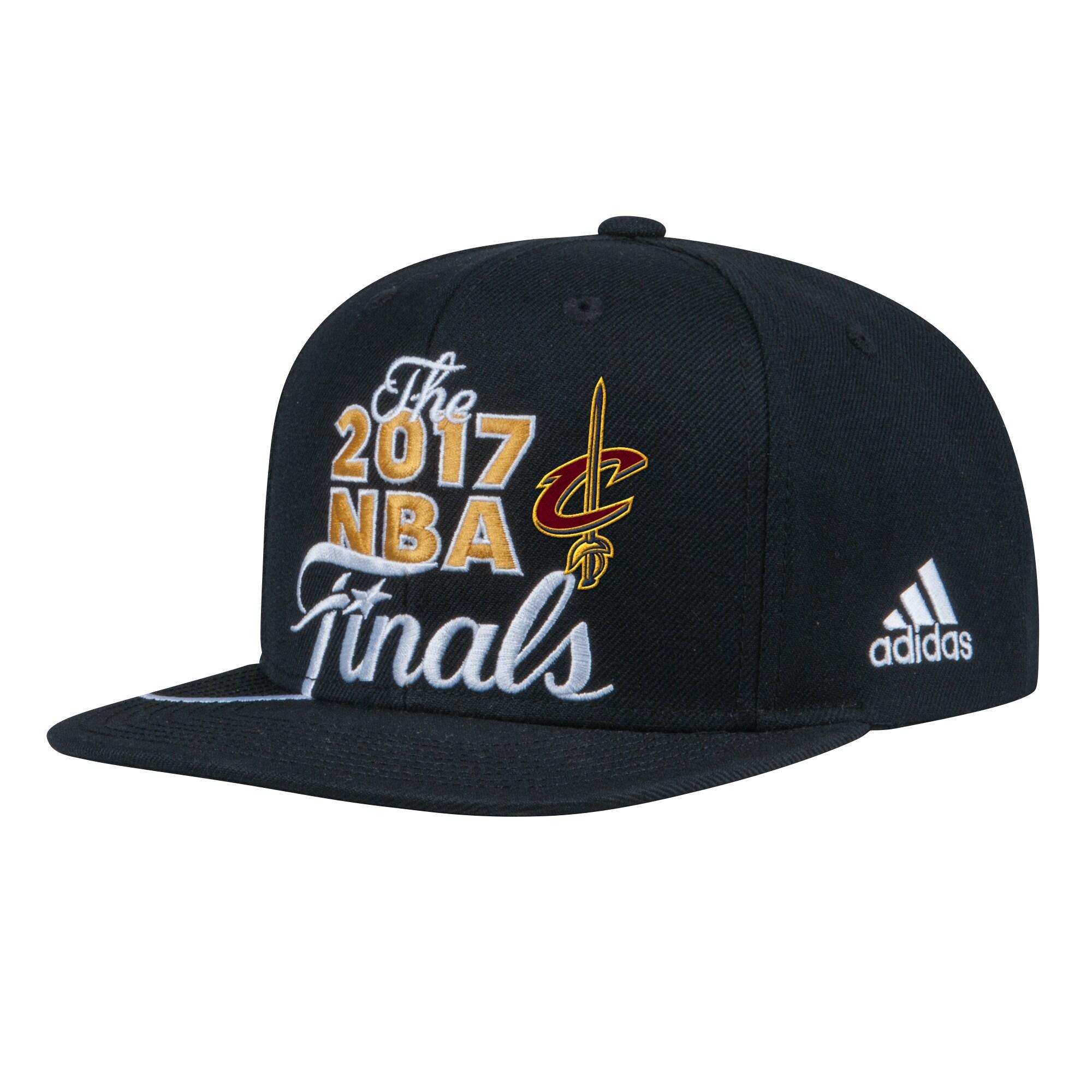 Cleveland Cavaliers adidas 2017 Eastern Conference Champions Locker Room Snapback Adjustable Hat - Black