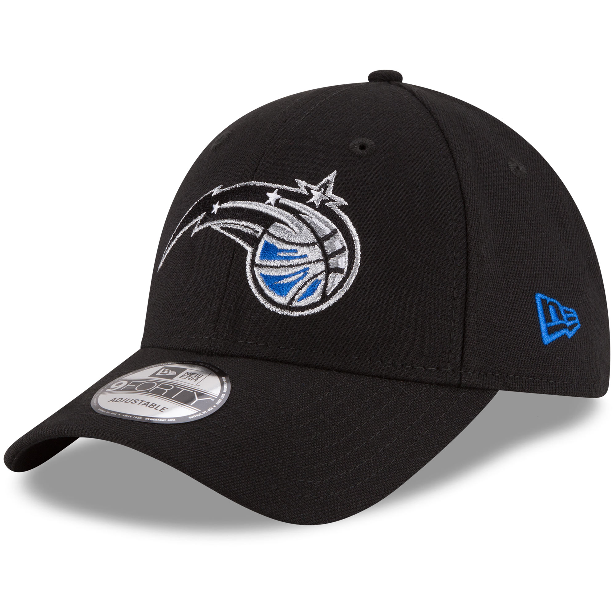 Orlando Magic New Era Official Team Color 9FORTY Adjustable Hat - Black