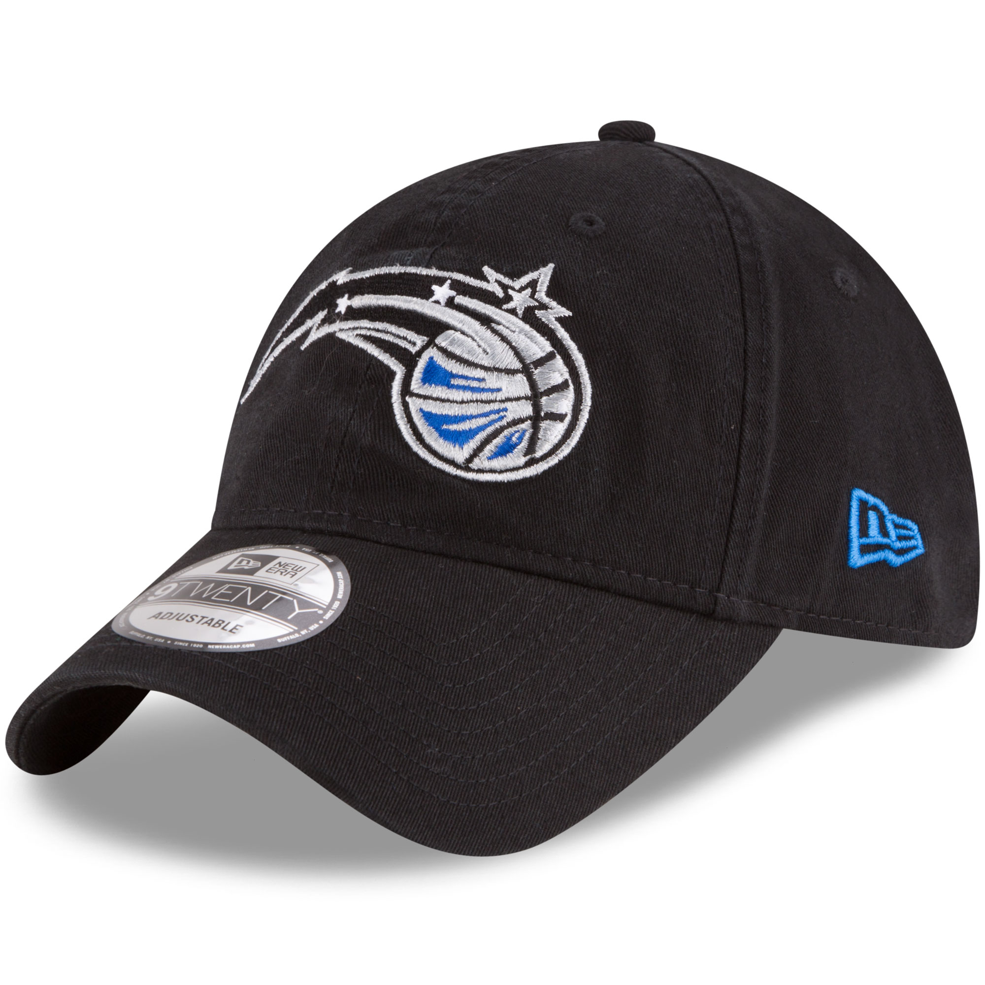 Orlando Magic New Era Official Team Color 9TWENTY Adjustable Hat - Black