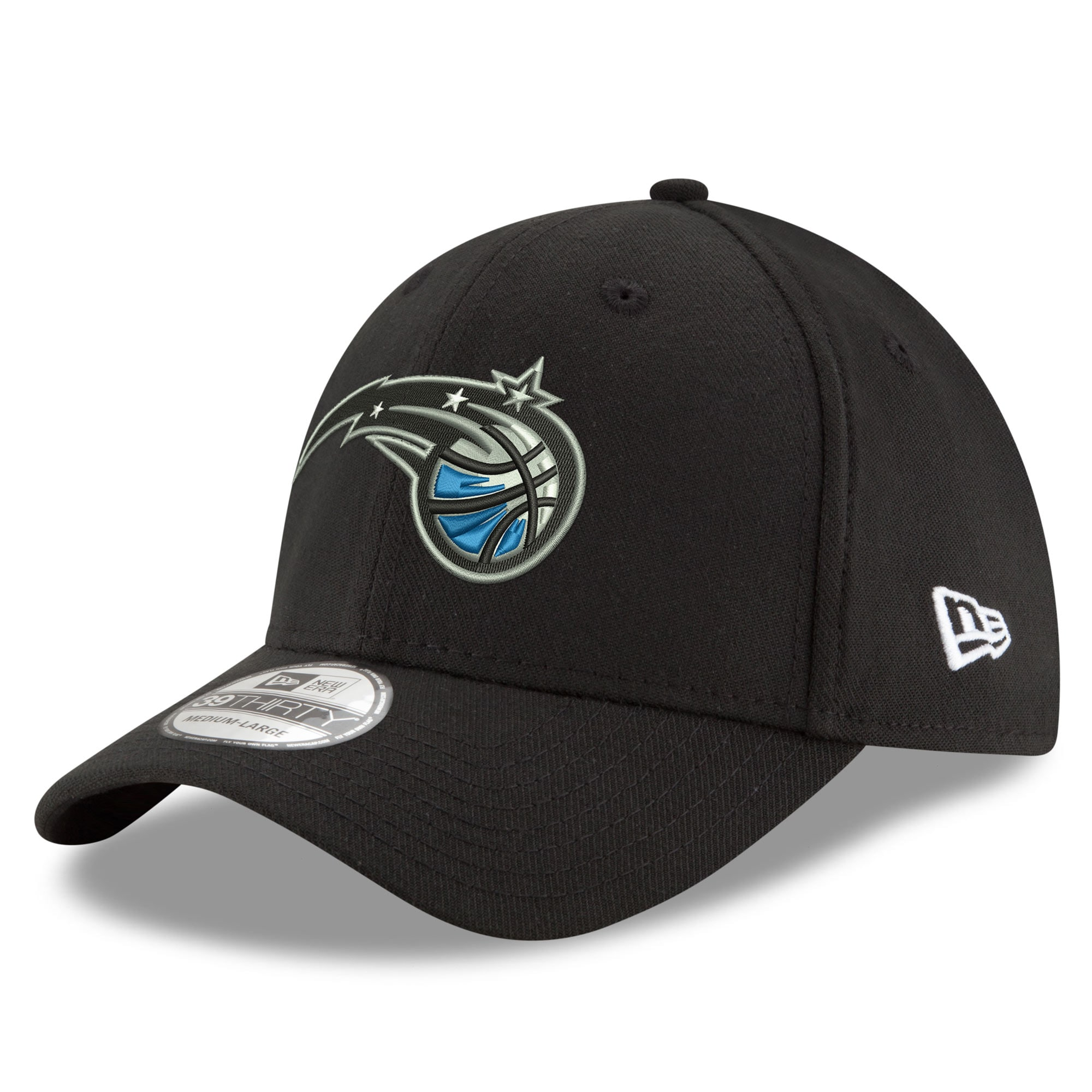 Orlando Magic New Era Team Classic 39THIRTY Flex Hat - Black