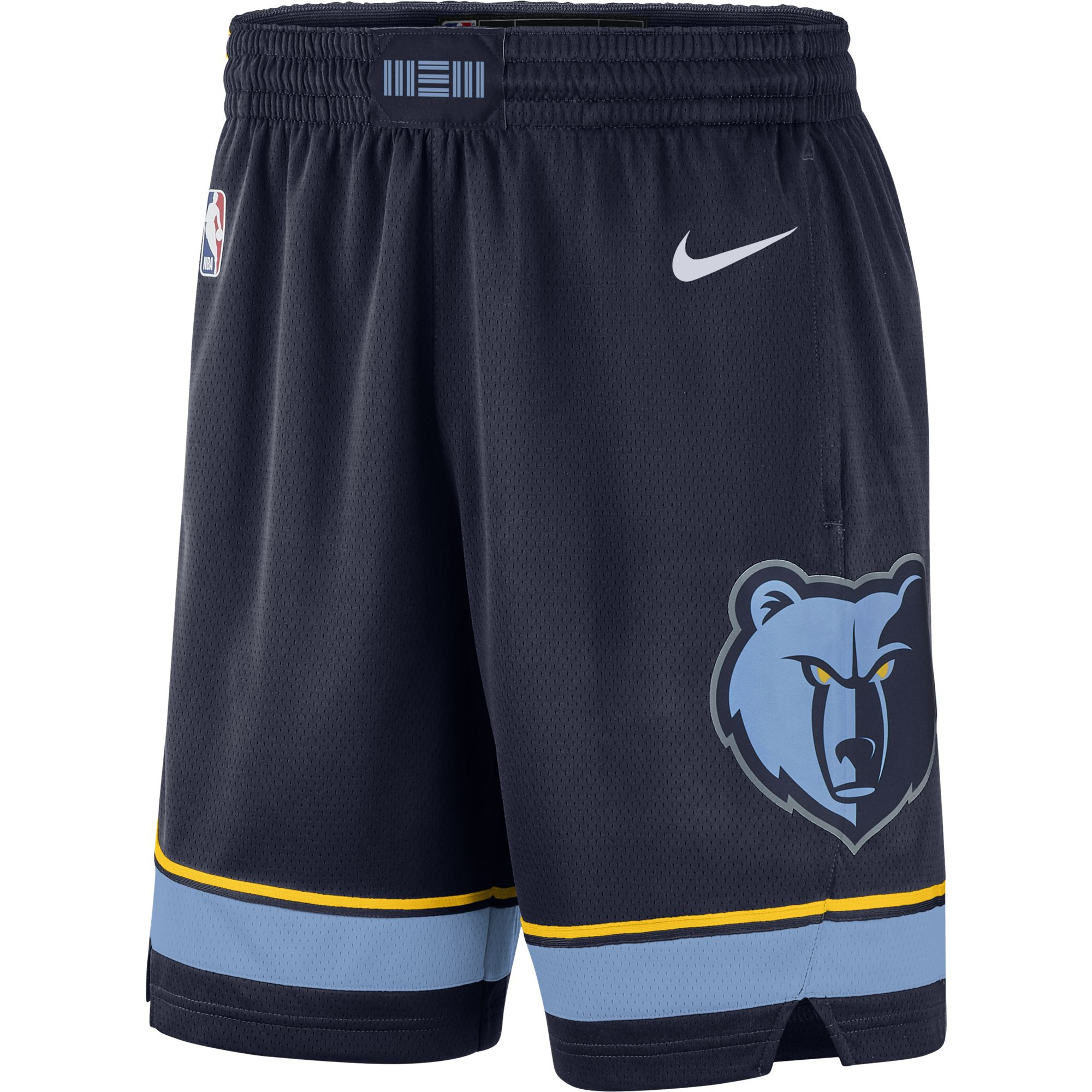 Memphis Grizzlies Nike 2019/20 Icon Edition Swingman Shorts - Navy
