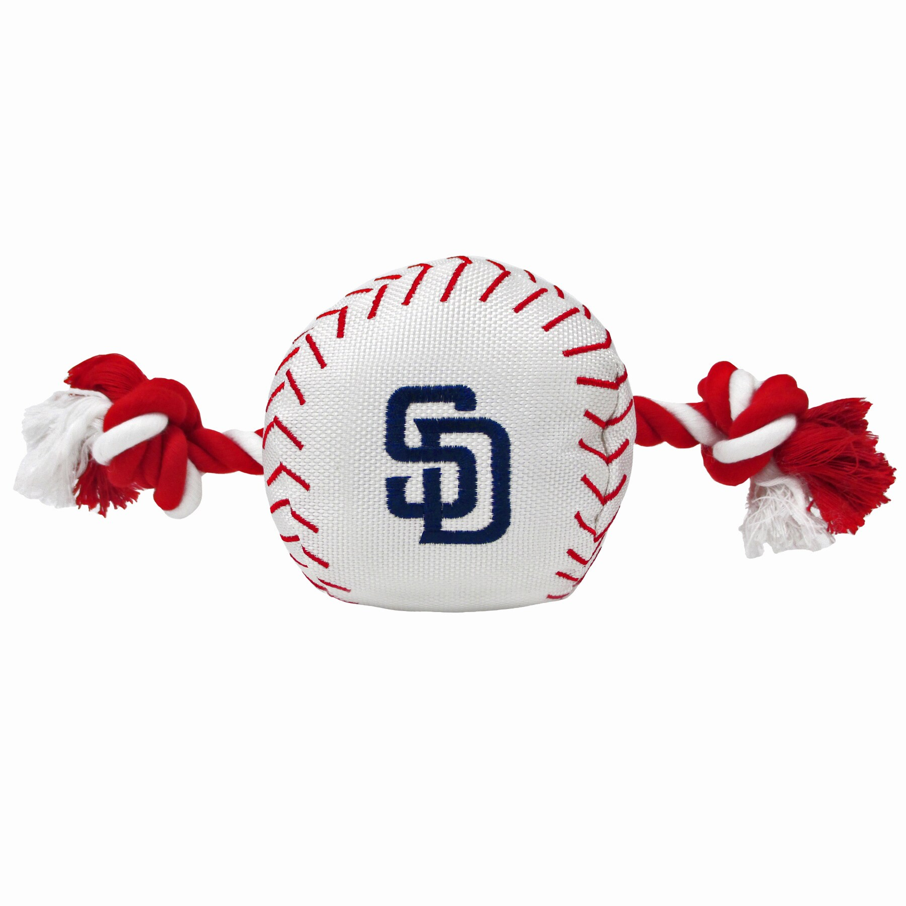 San Diego Padres Dog Baseball Rope Toy