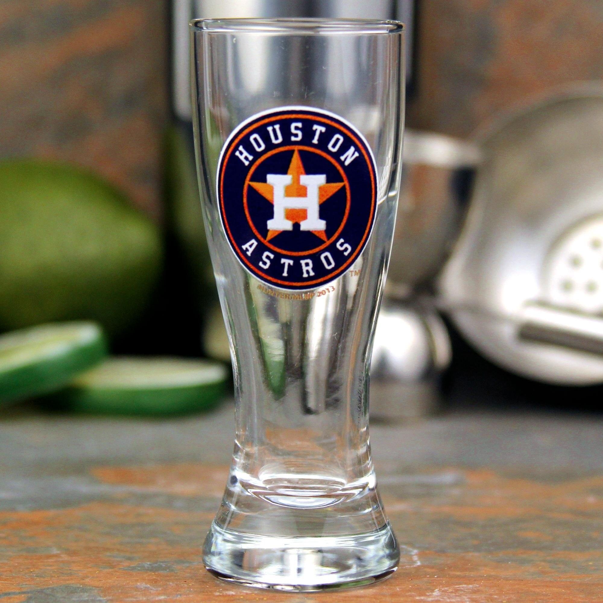 Houston Astros 2oz. Pilsner Collector Glass
