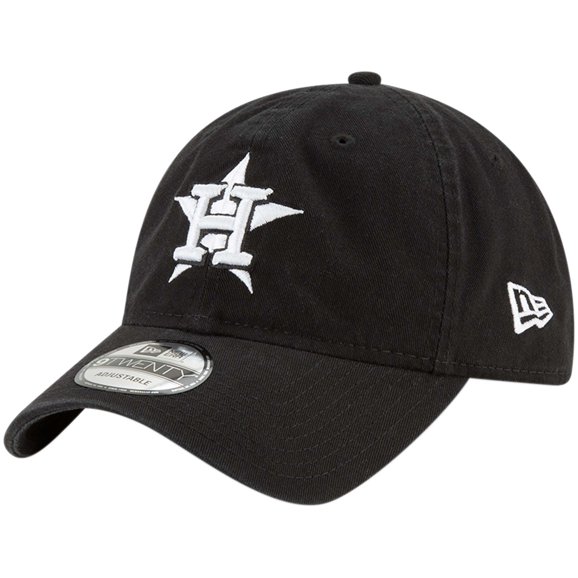 Houston Astros New Era Core Classic Twill 9TWENTY Adjustable Hat - Black