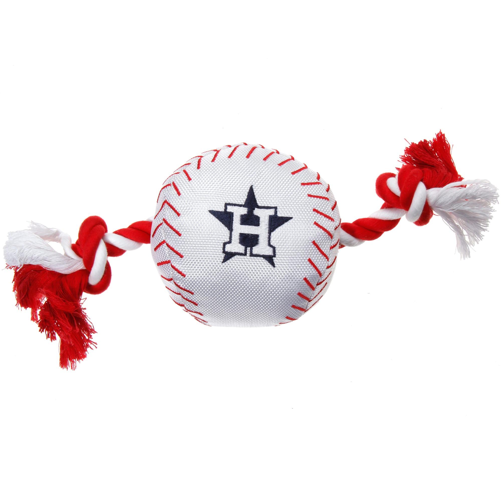 Houston Astros Dog Baseball Rope Toy