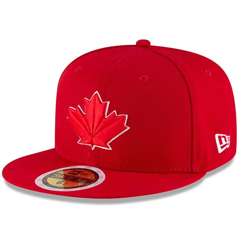 Toronto Blue Jays New Era Youth Authentic Collection On-Field Alternate 2 59FIFTY Fitted Hat - Red