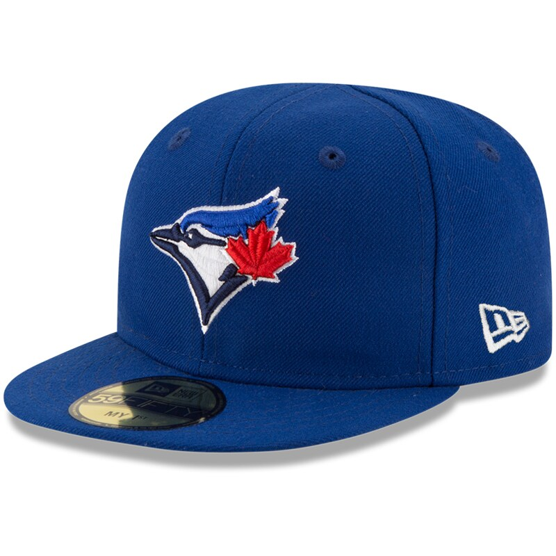 Toronto Blue Jays New Era Infant Authentic Collection On-Field My First 59FIFTY Fitted Hat - Royal