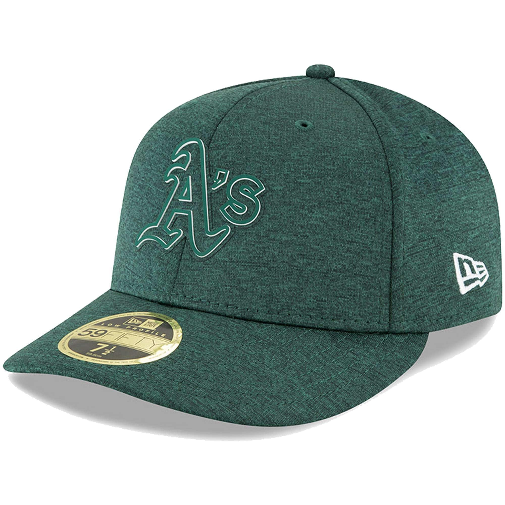 Oakland Athletics New Era 2018 Clubhouse Collection Low Profile 59FIFTY Fitted Hat - Green