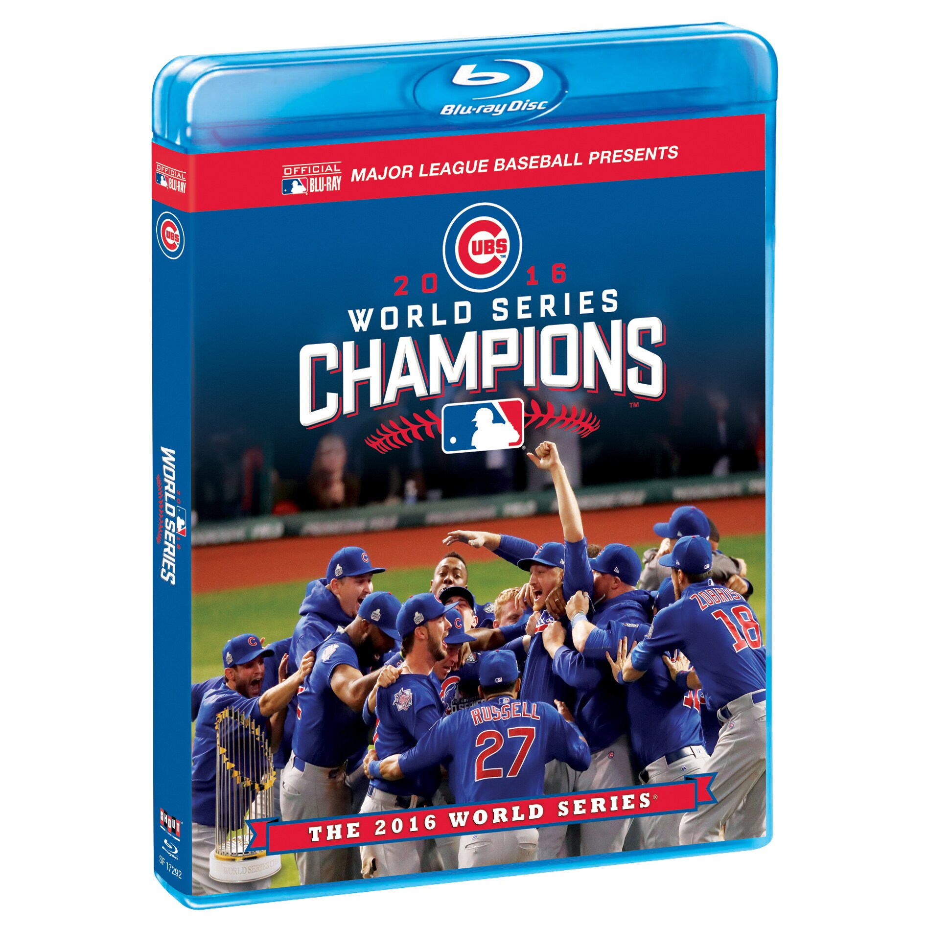 Chicago Cubs 2016 World Series Champions Commemorative Blu-Ray