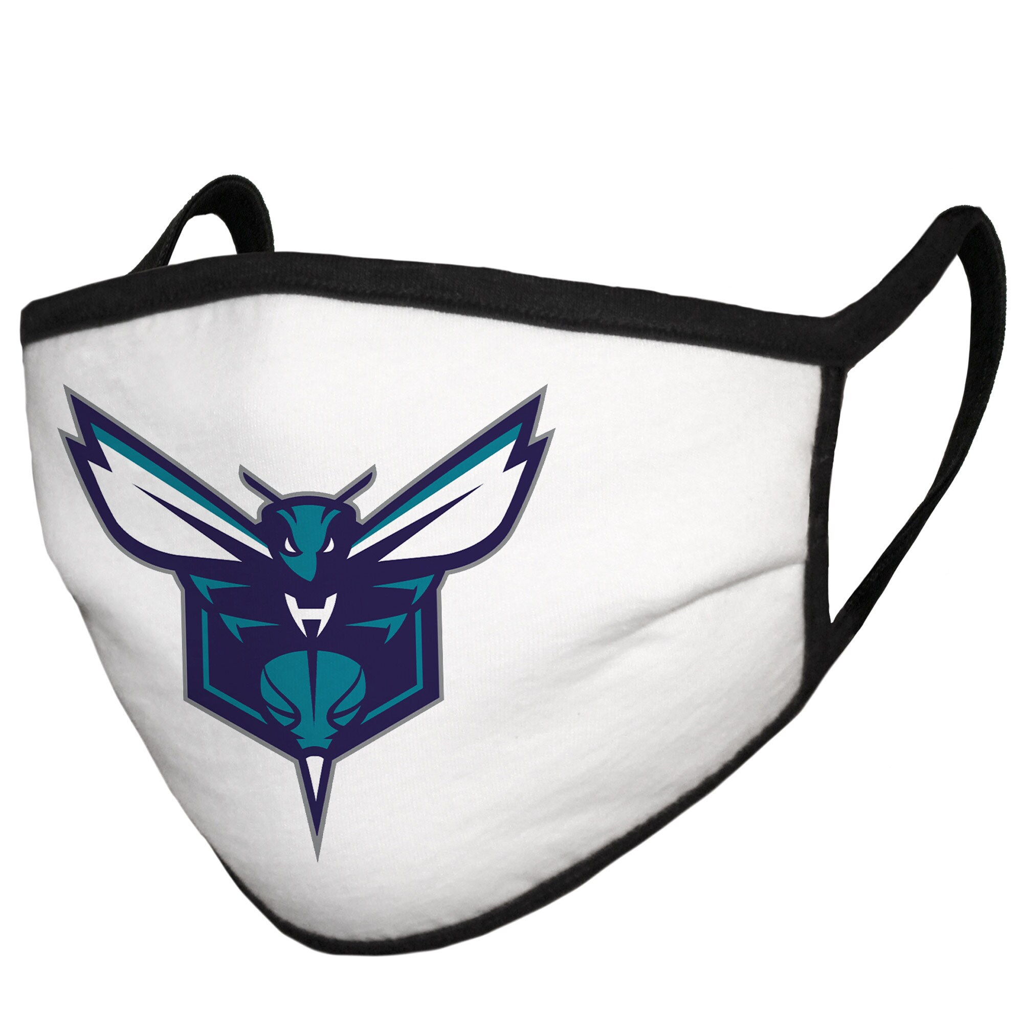 Charlotte Hornets Fanatics Branded Cloth Face Covering (Size Small) - MADE IN USA