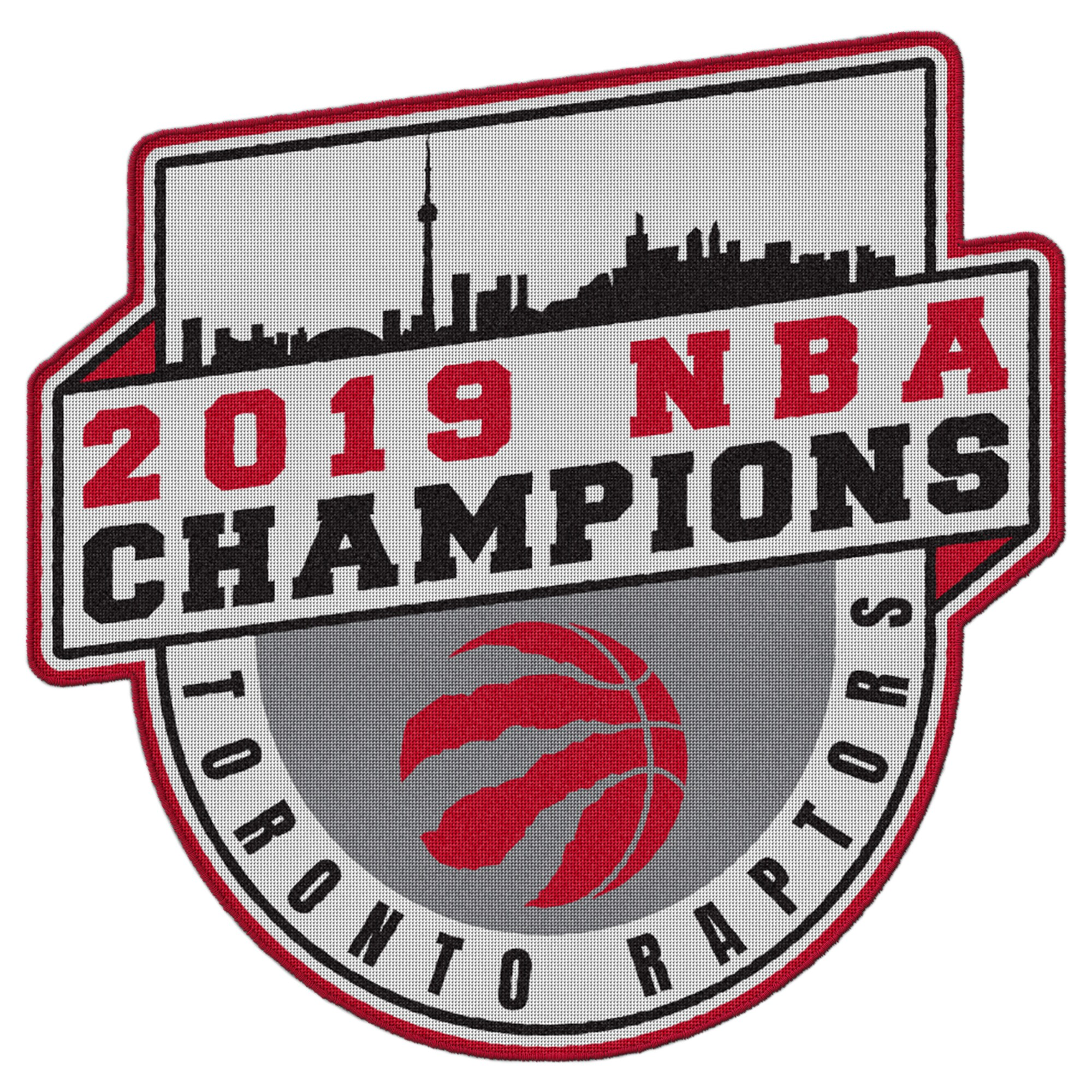 Toronto Raptors 2019 NBA Finals Champions Run the Table Patch