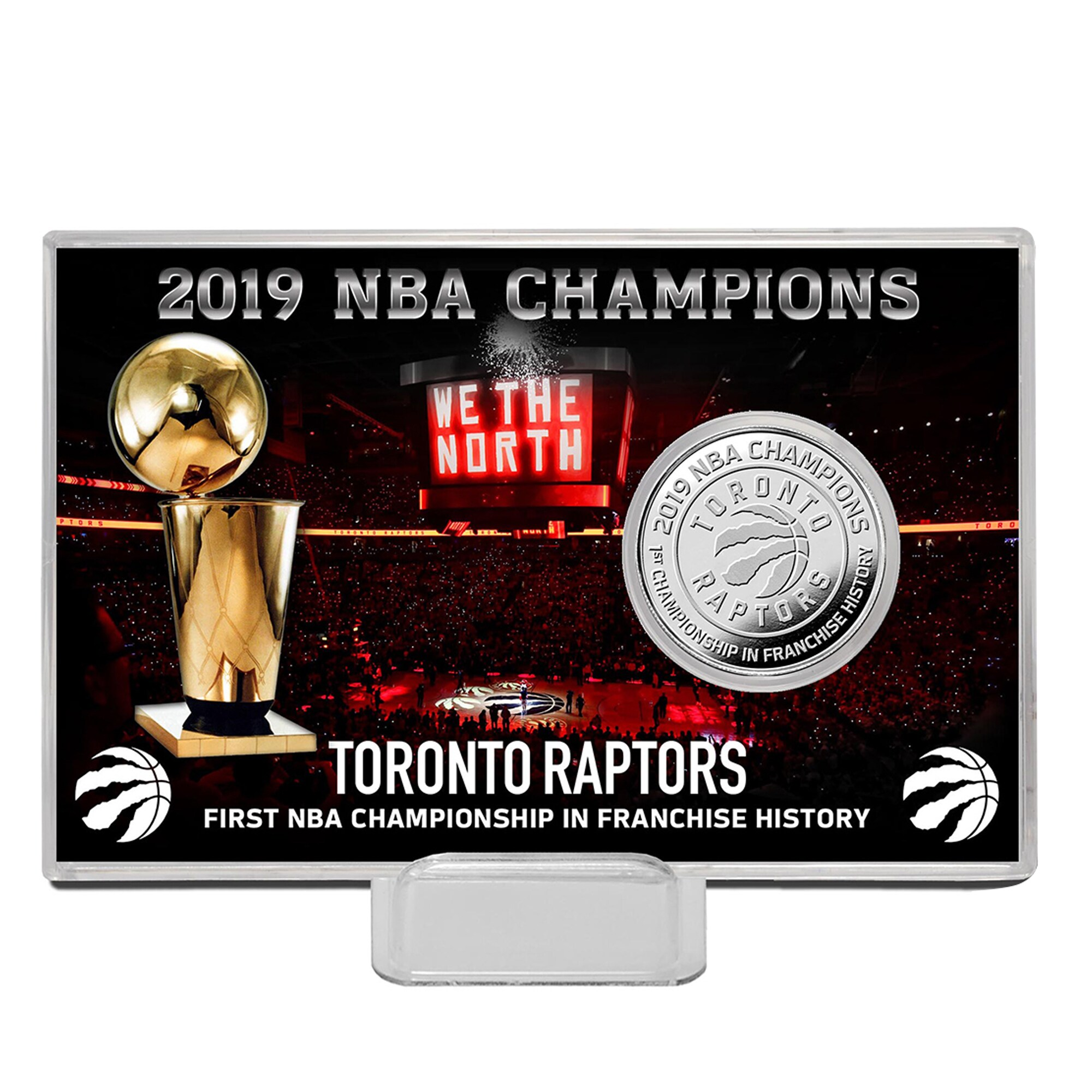 Toronto Raptors Highland Mint 2019 NBA Finals Champions 4'' x 6'' Coin Card