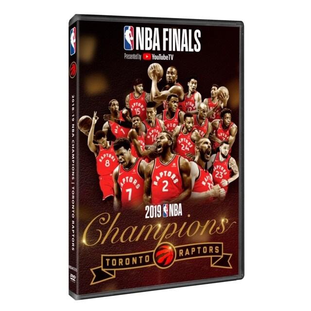 Toronto Raptors 2019 NBA Finals Champions DVD