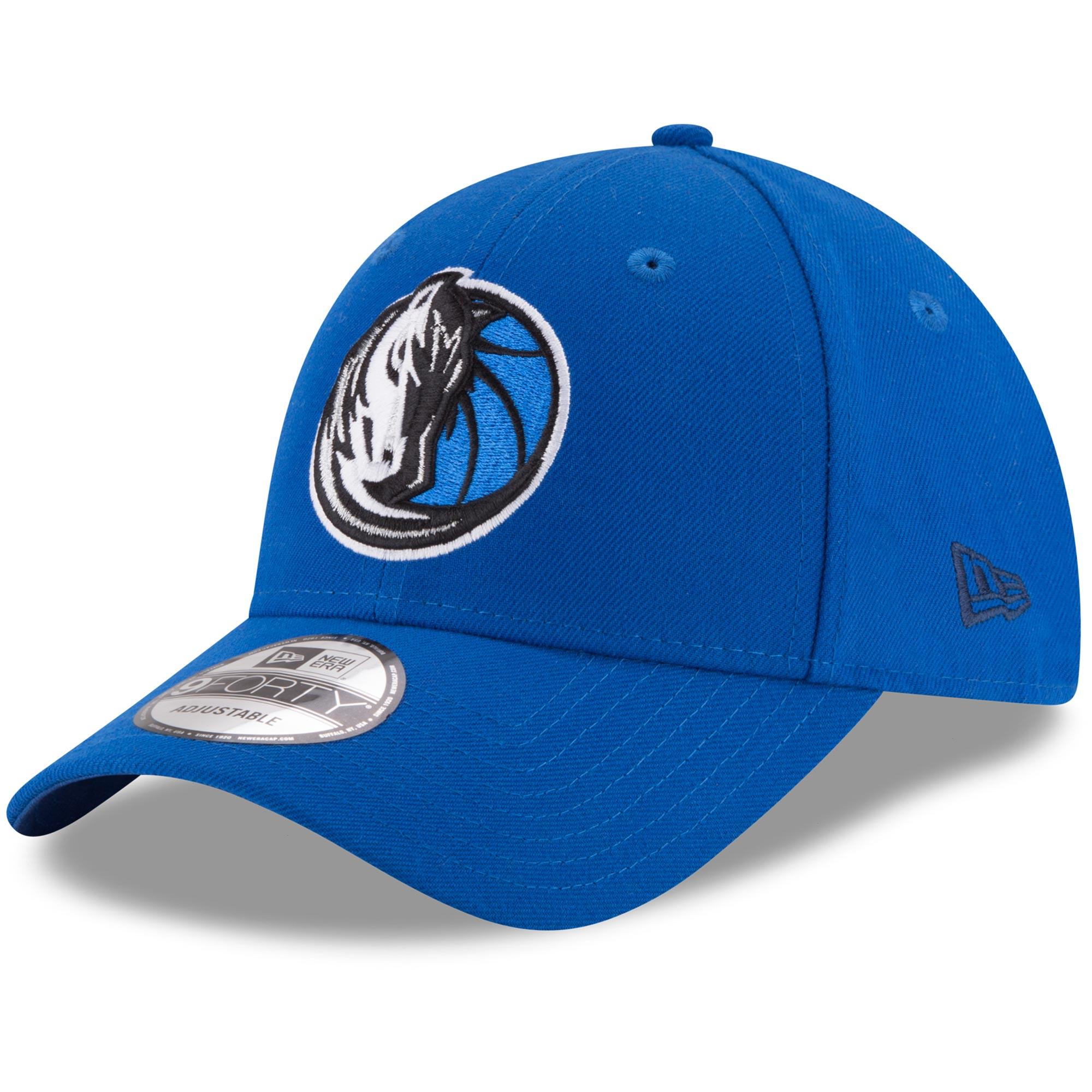 Dallas Mavericks New Era Official Team Color 9FORTY Adjustable Hat - Blue