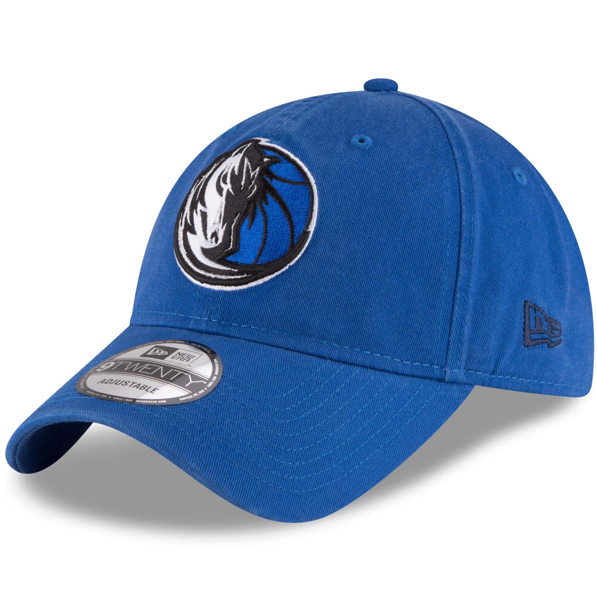 Dallas Mavericks New Era Official Team Color 9TWENTY Adjustable Hat - Blue