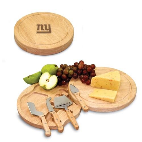 New York Giants Circo Cheese Board & Tool Set
