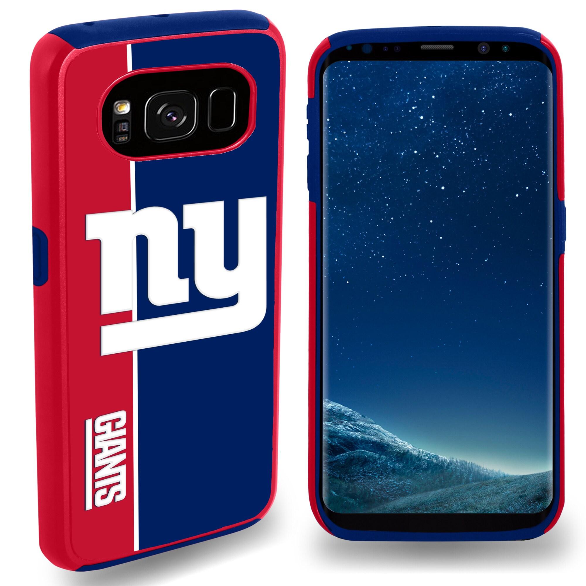 New York Giants Galaxy S8 Bold Dual Hybrid Case