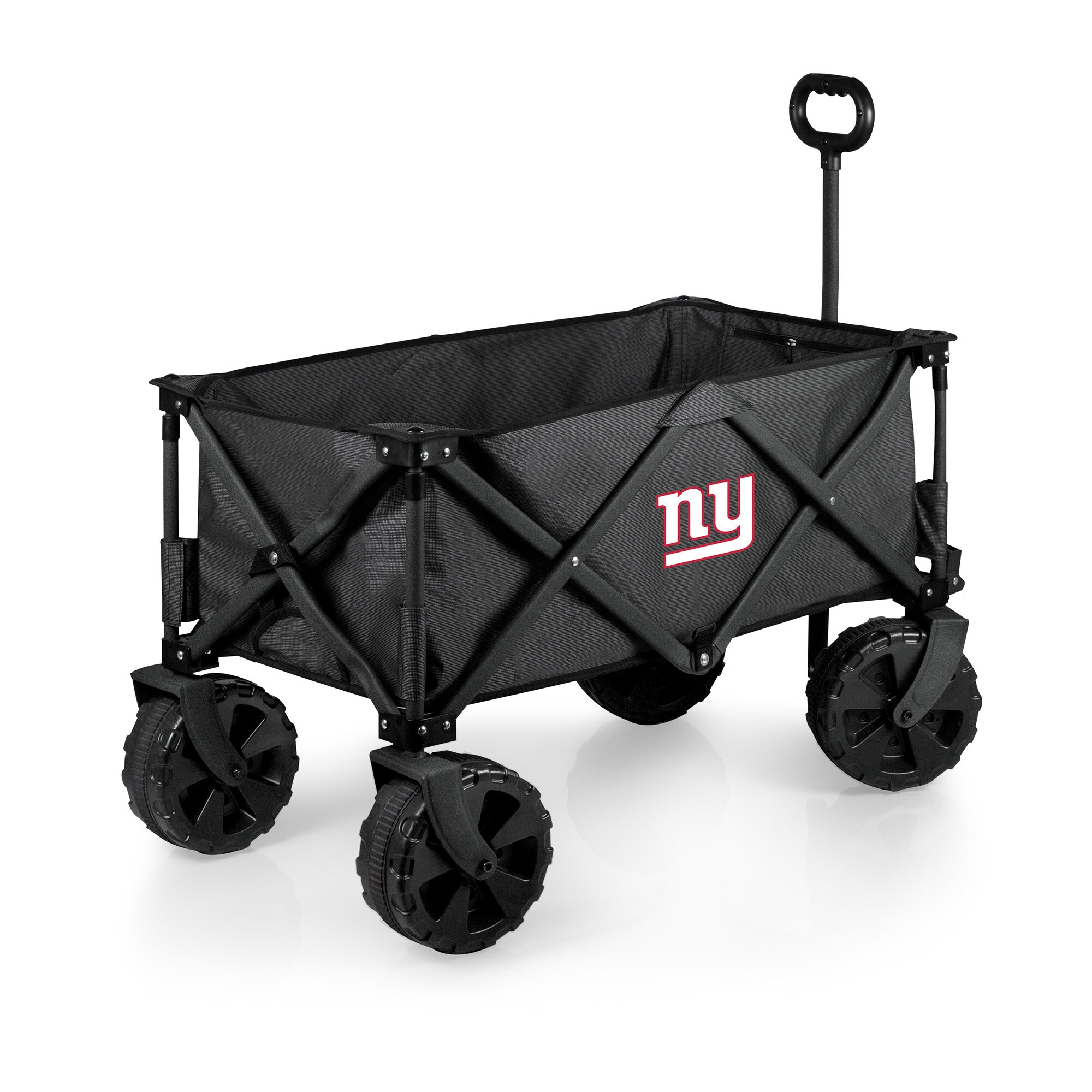 New York Giants Adventure Wagon Elite All-Terrain Folding Utility Wagon - Charcoal