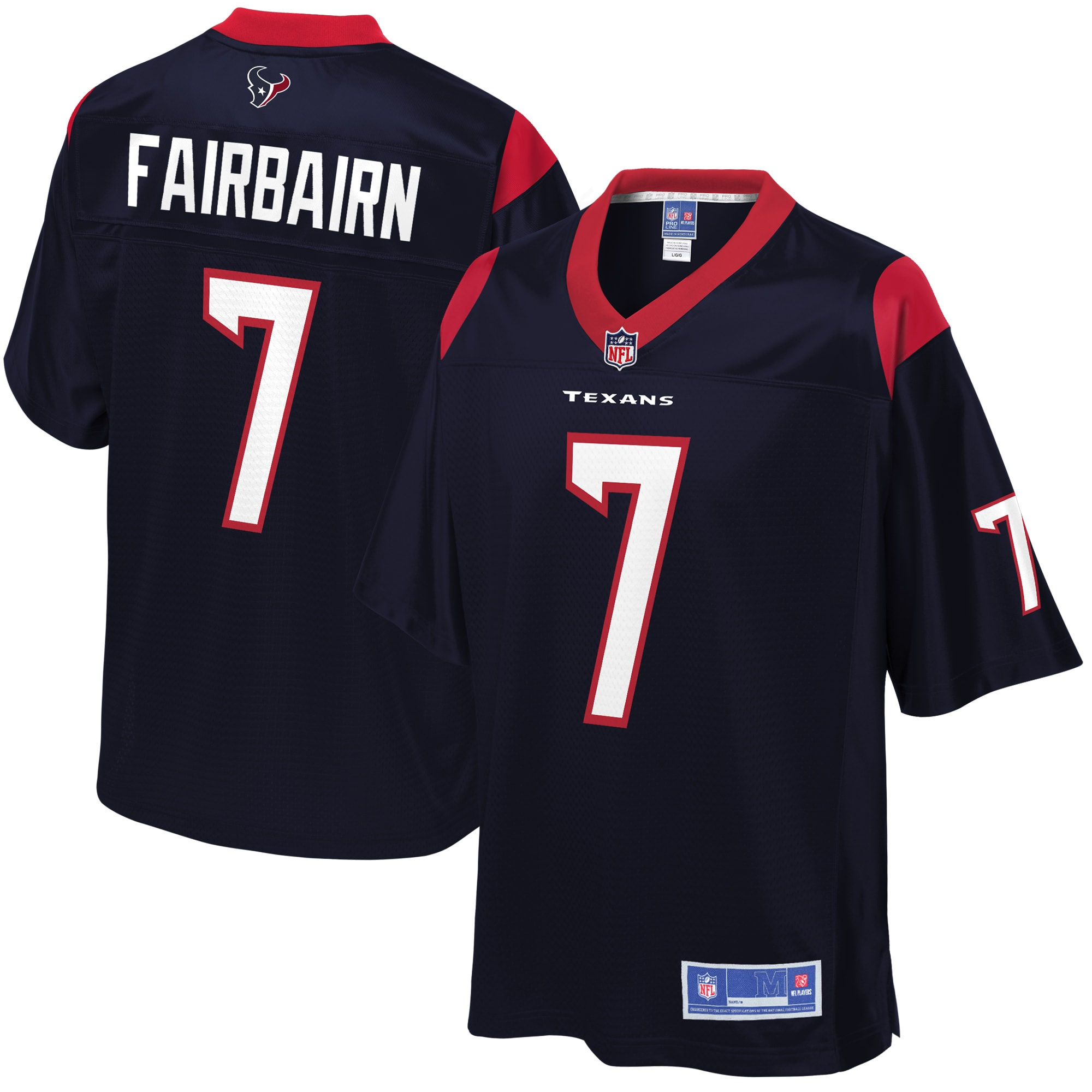 Ka'imi Fairbairn Houston Texans NFL Pro Line Youth Player Jersey - Navy