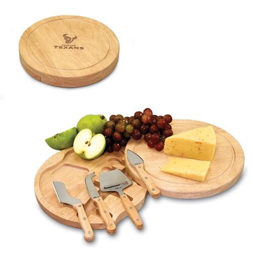 Houston Texans Circo Cheese Board & Tool Set