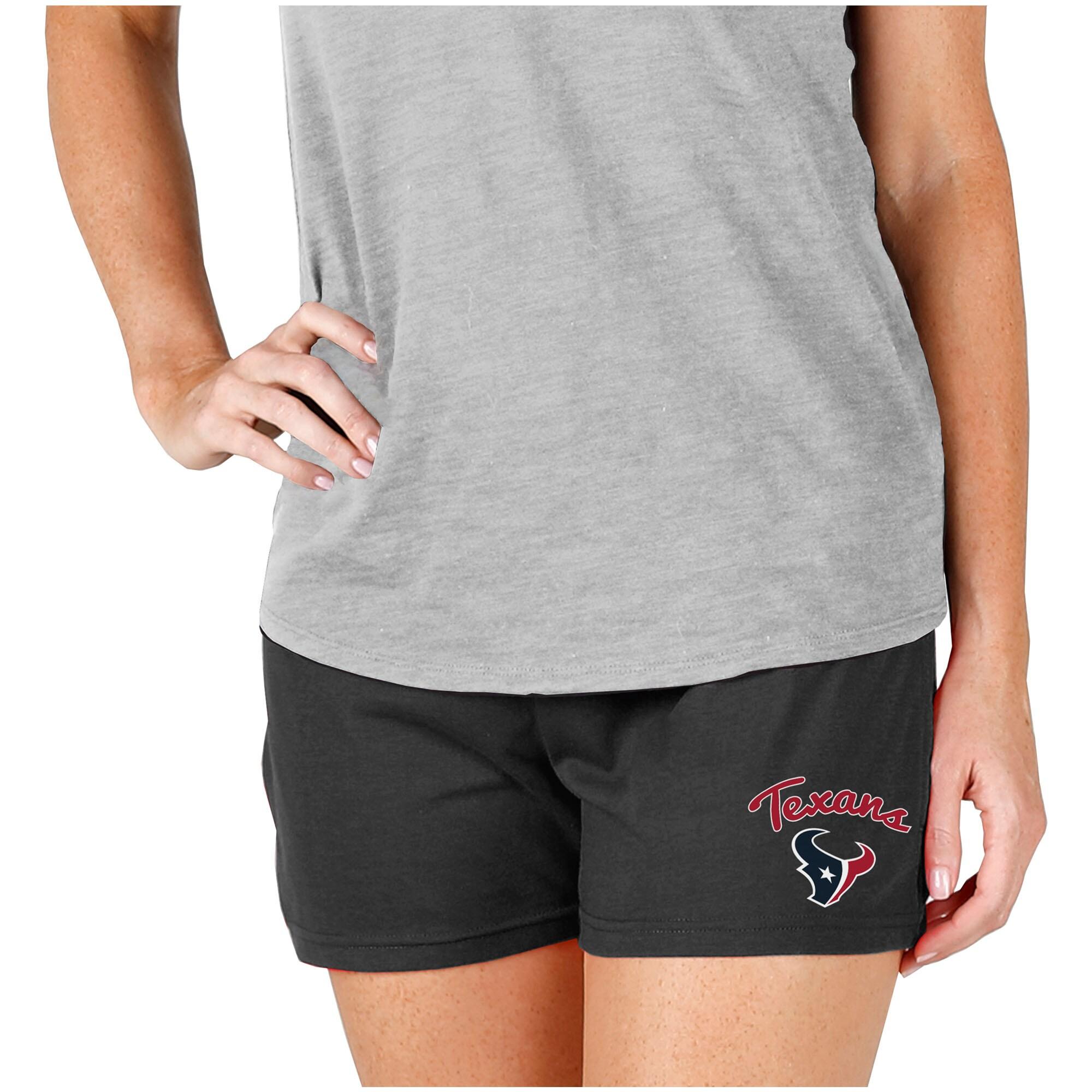 Houston Texans Concepts Sport Women's Knit Shorts - Charcoal