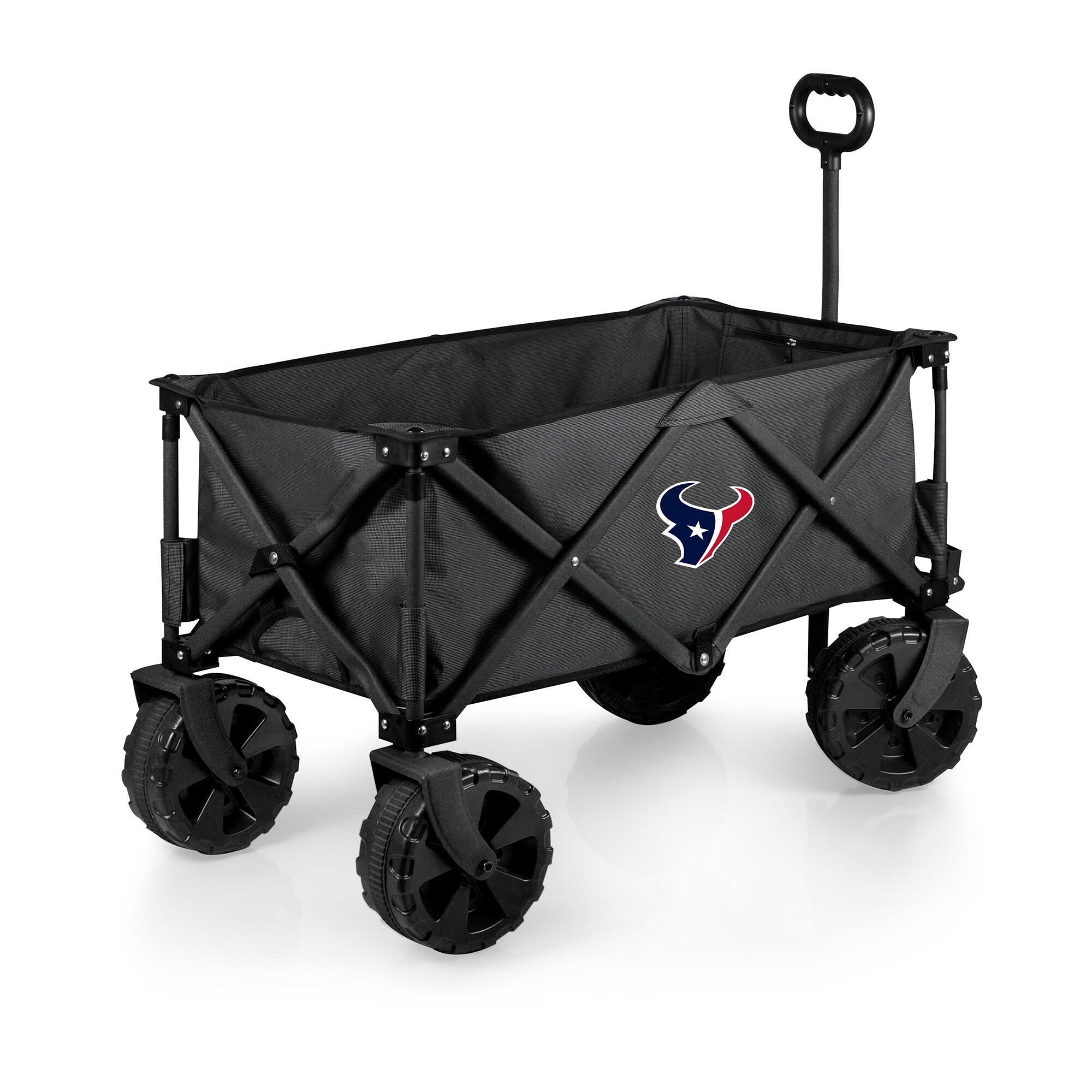 Houston Texans Adventure Wagon Elite All-Terrain Folding Utility Wagon - Charcoal