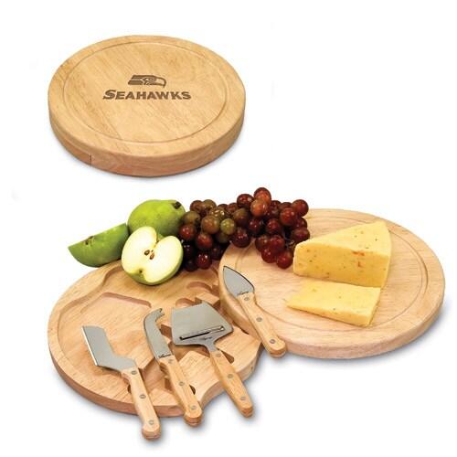 Seattle Seahawks Circo Cheese Board & Tool Set