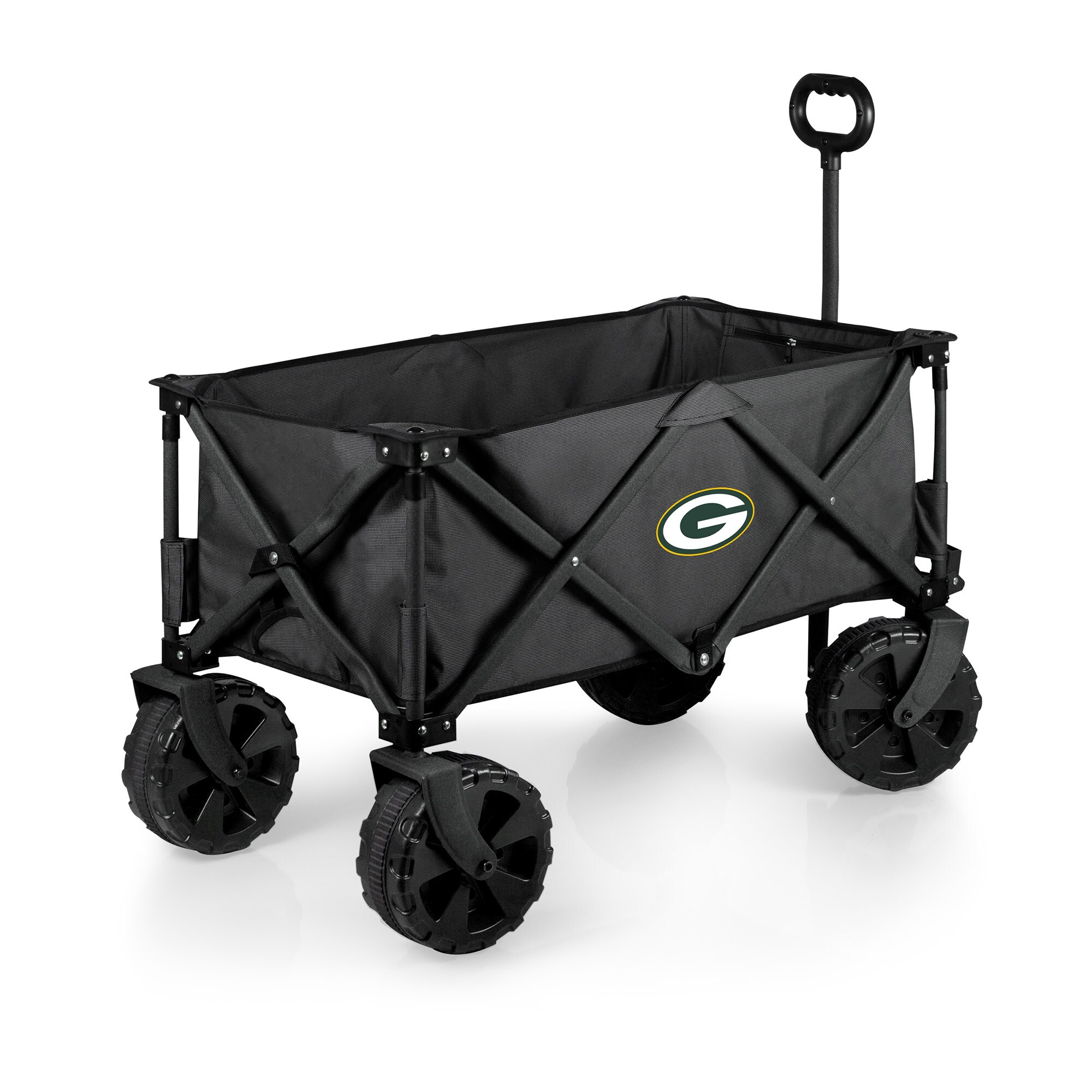 Green Bay Packers Adventure Wagon Elite All-Terrain Folding Utility Wagon - Charcoal