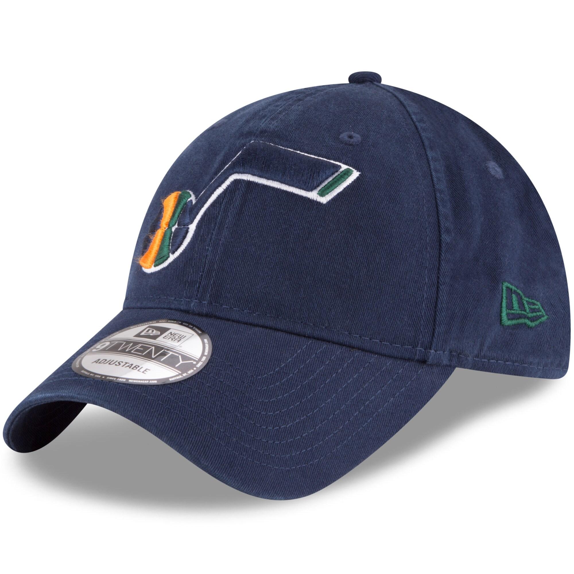 Utah Jazz New Era Official Team Color 9TWENTY Adjustable Hat - Navy