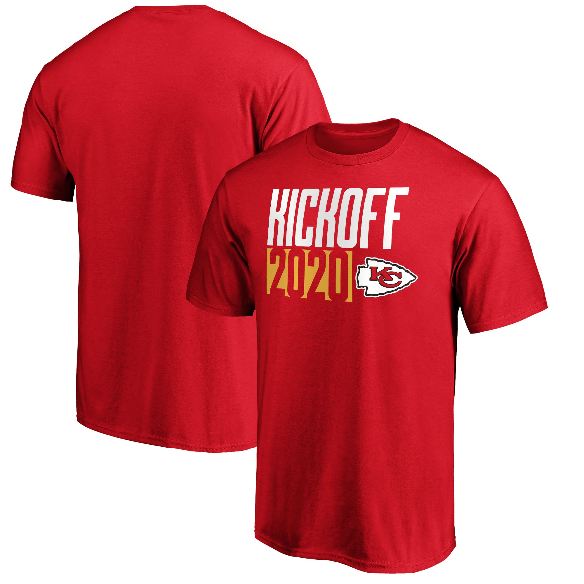 Kansas City Chiefs Fanatics Branded Kickoff 2020 T-Shirt - Red