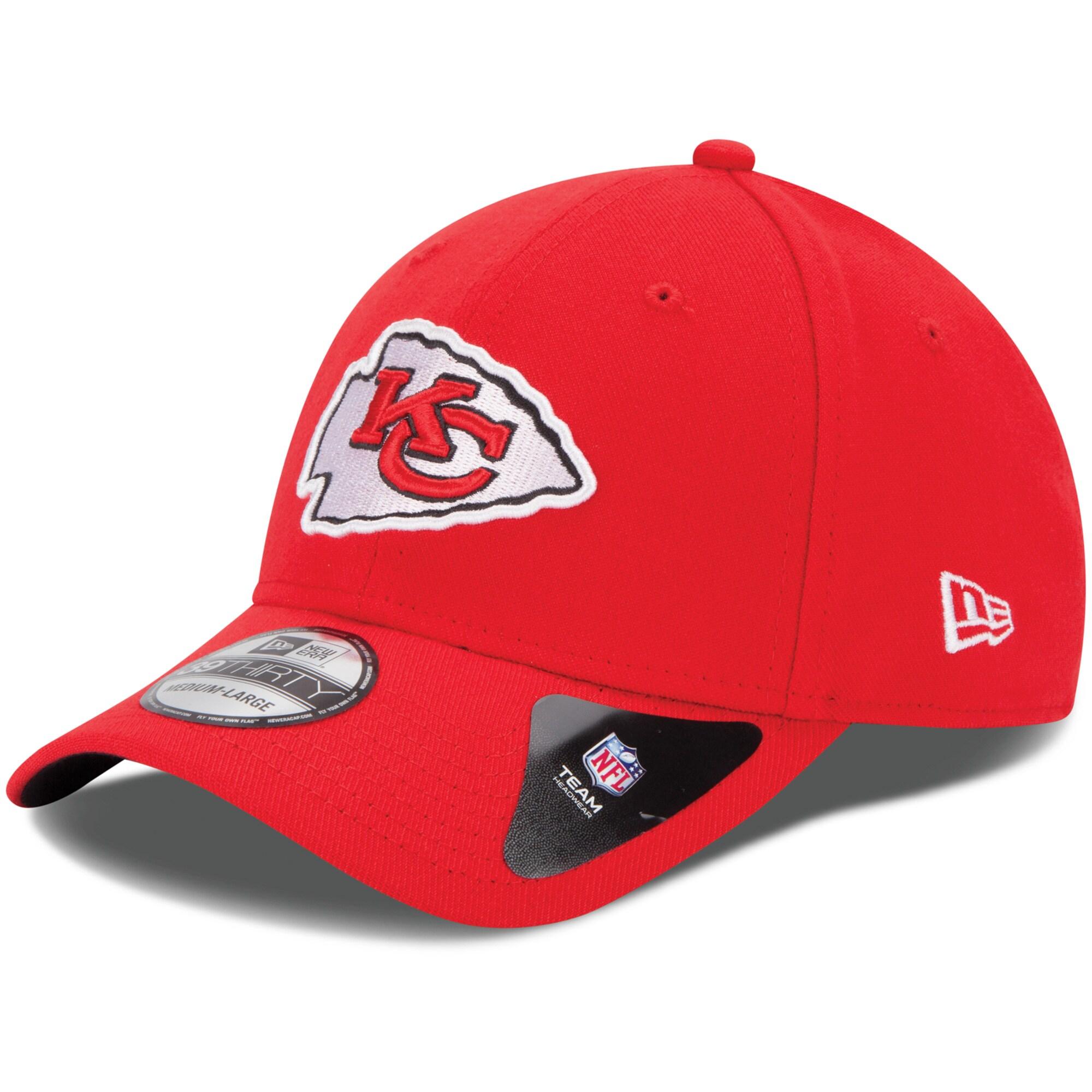 Kansas City Chiefs New Era Youth Team Classic 39THIRTY Flex Hat - Red