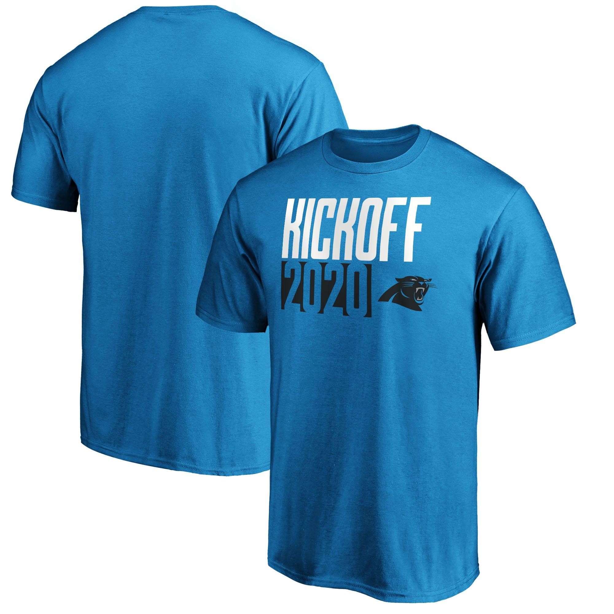 Carolina Panthers Fanatics Branded Kickoff 2020 T-Shirt - Blue