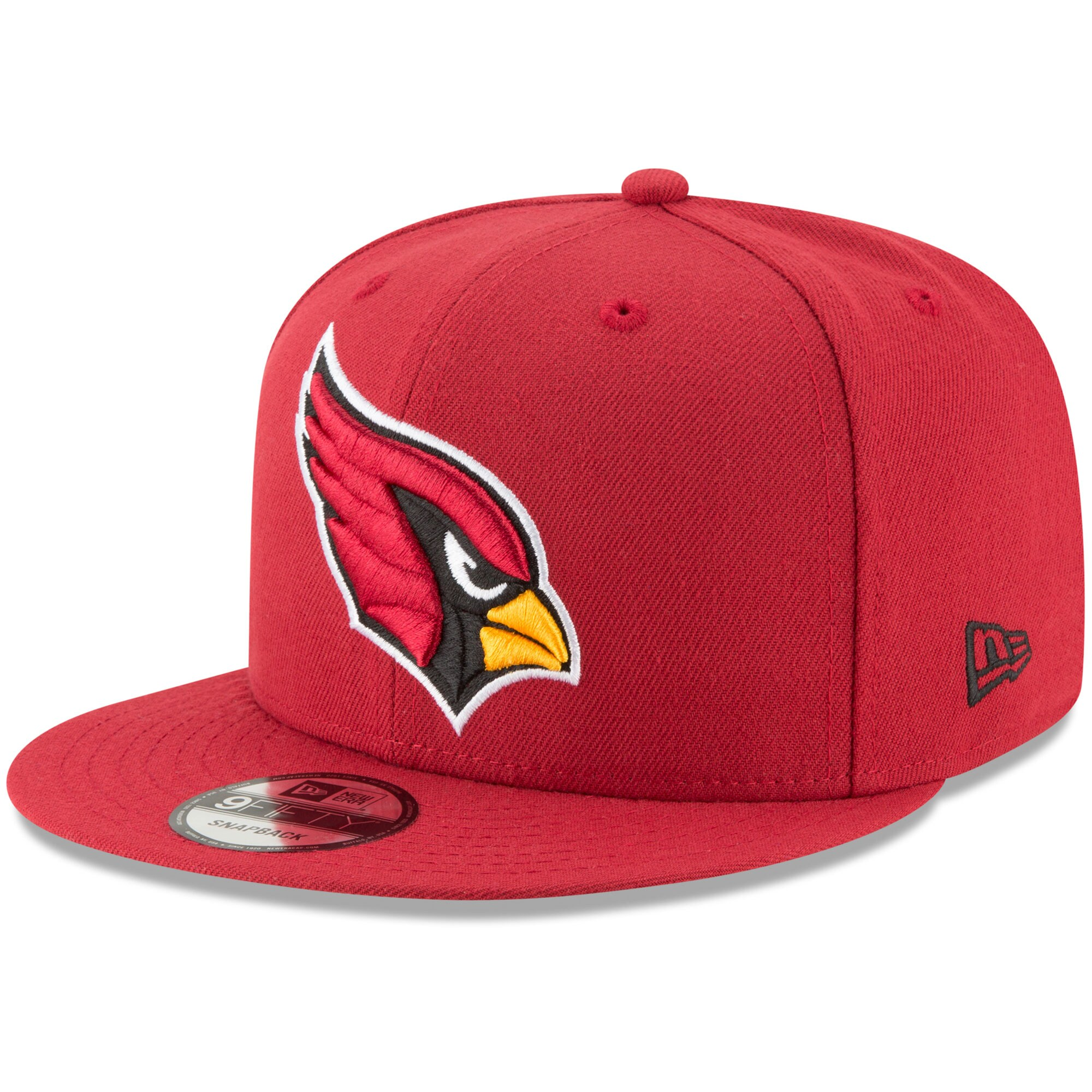 Arizona Cardinals New Era Basic 9FIFTY Adjustable Snapback Hat - Cardinal