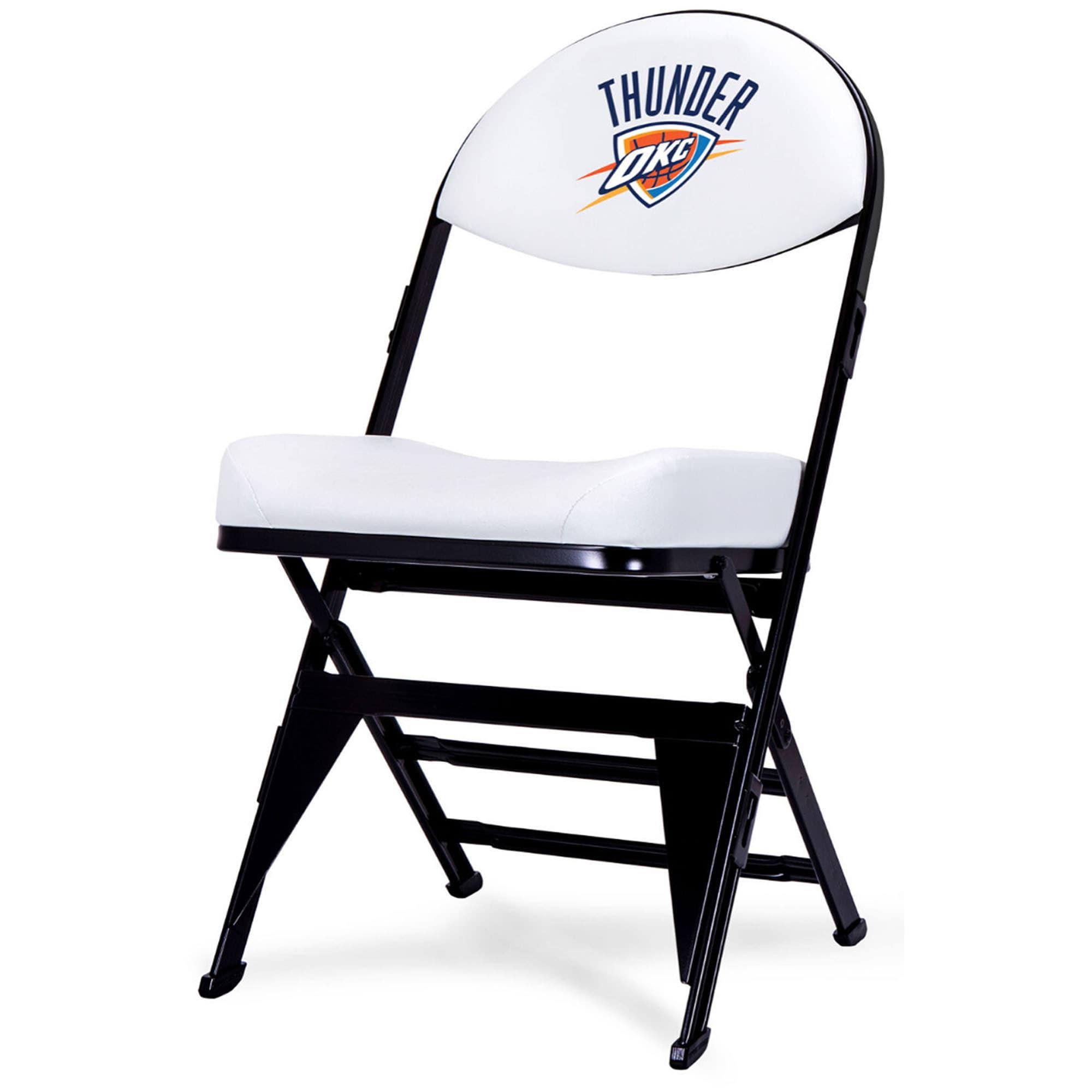Oklahoma City Thunder Home Team Chair - White