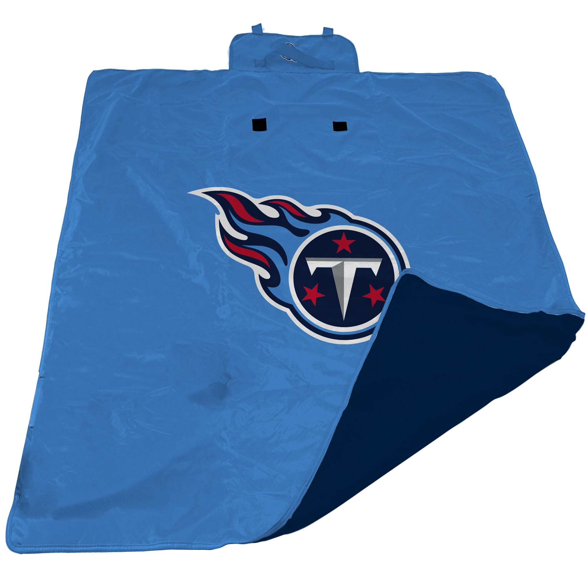 Tennessee Titans 60'' x 80'' All-Weather XL Outdoor Blanket - Powder Blue