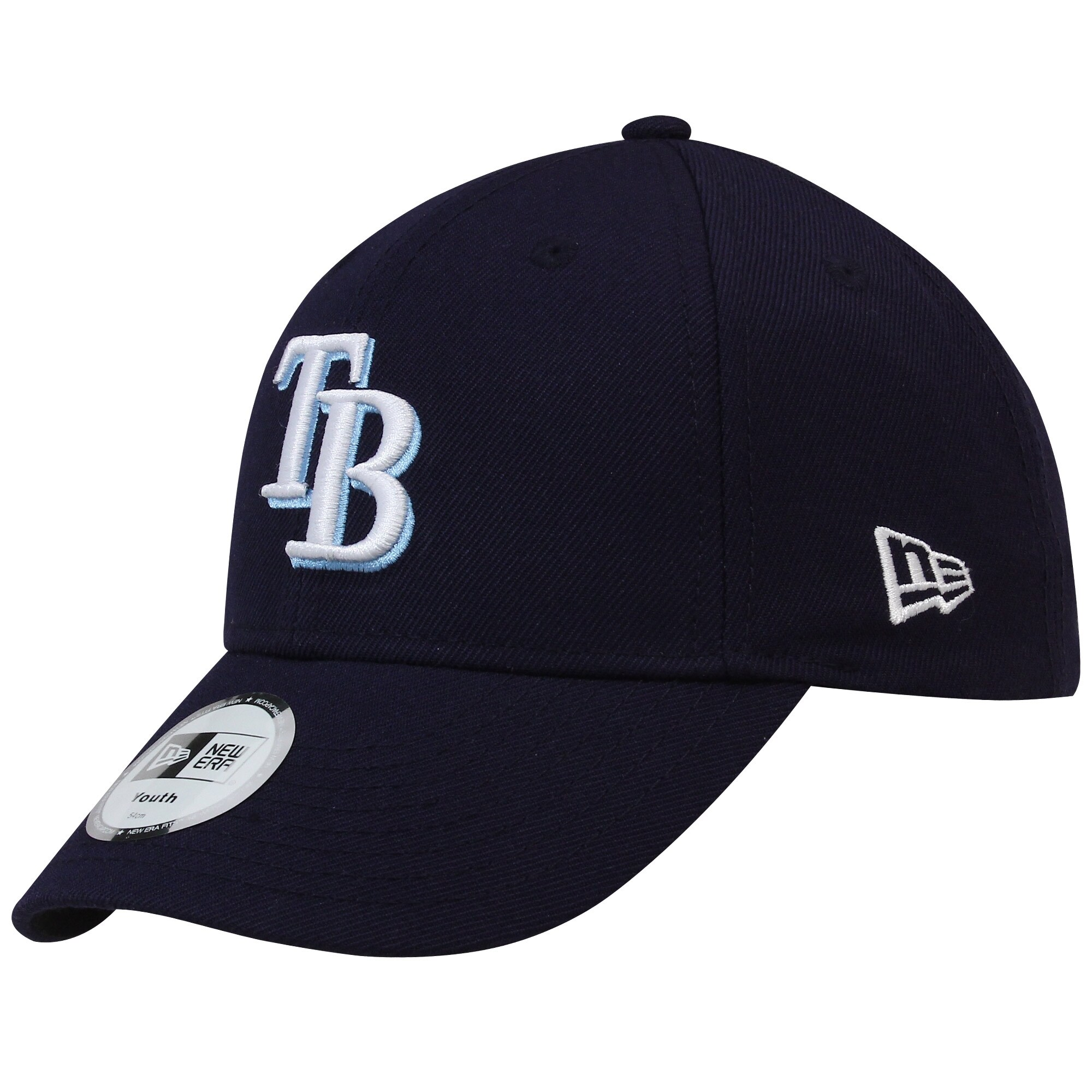 New Era Tampa Bay Rays Youth League Adjustable Hat - Navy