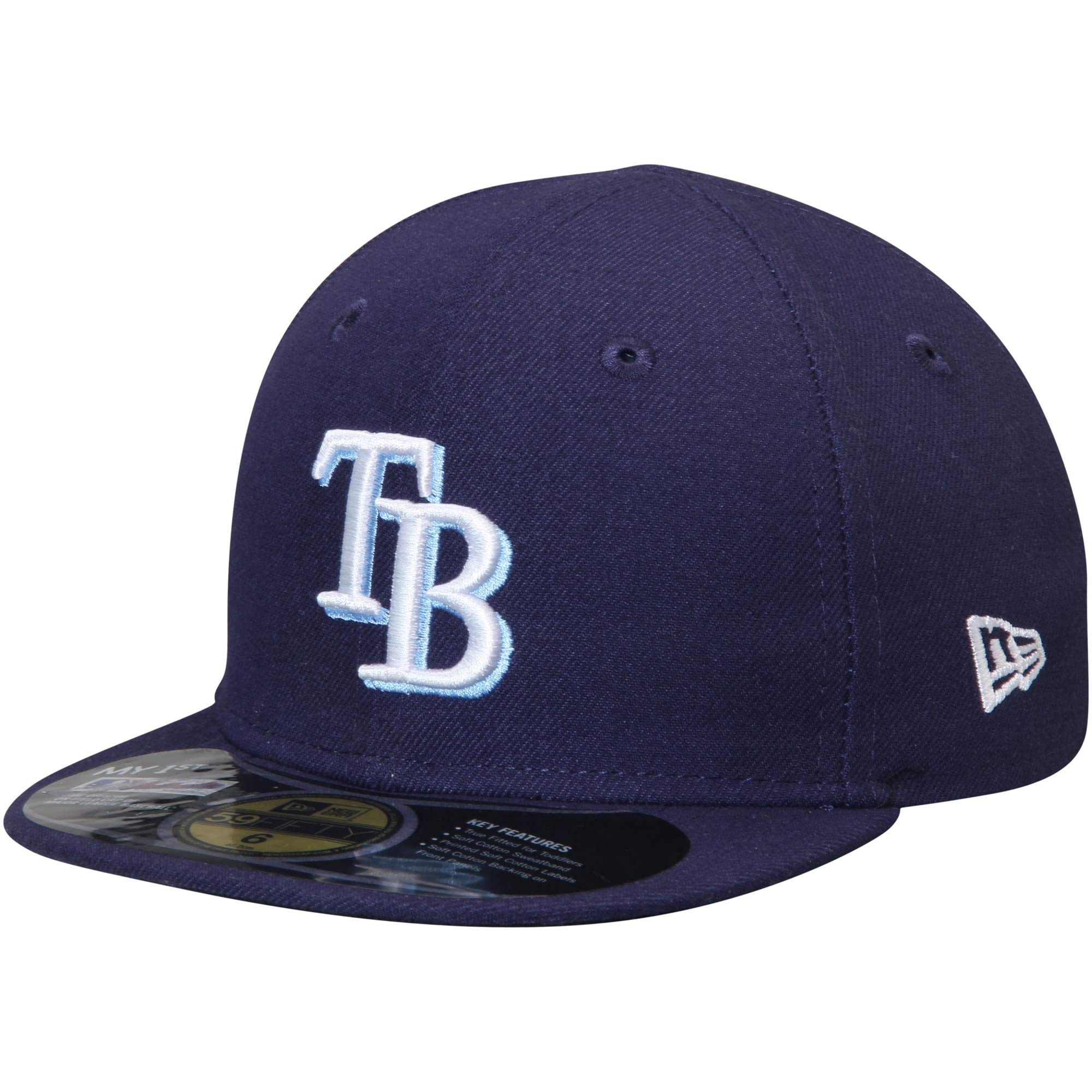 Tampa Bay Rays New Era Infant Authentic Collection On-Field My First 59FIFTY Fitted Hat - Navy