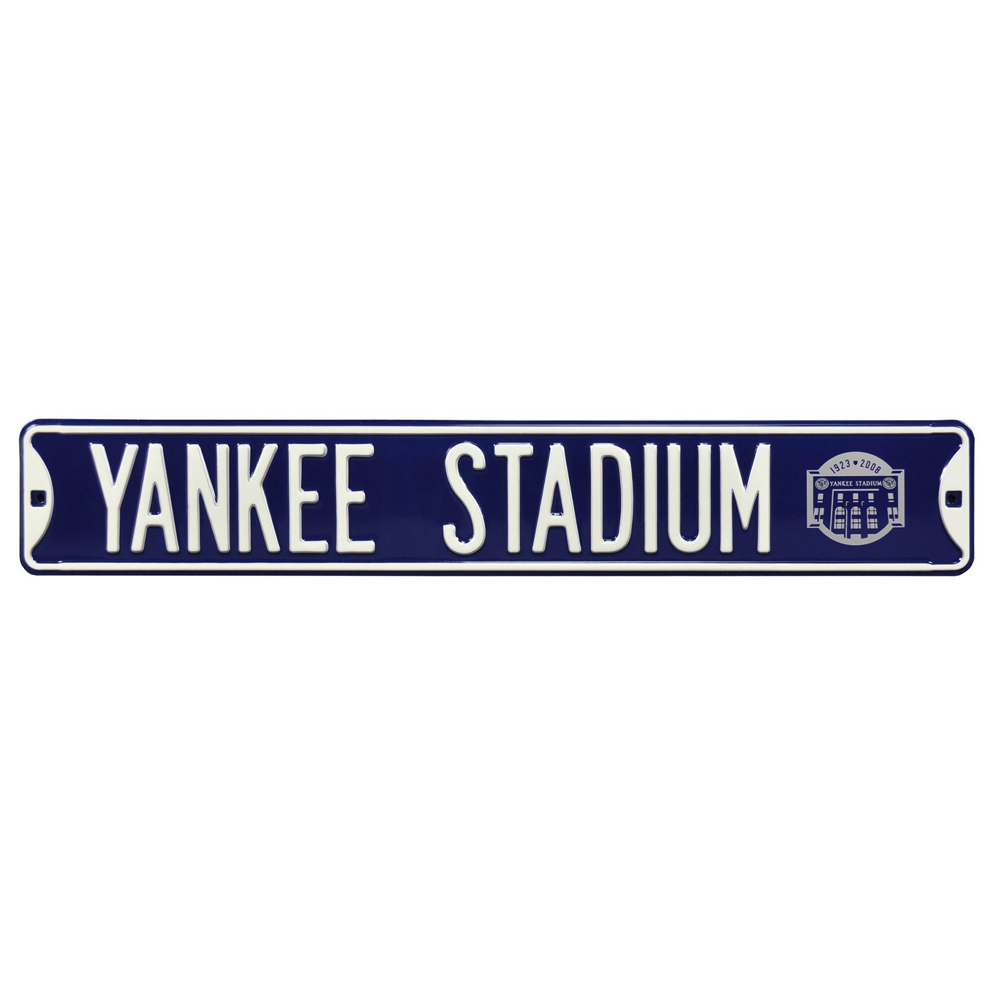 New York Yankees Yankee Stadium Steel Street Sign