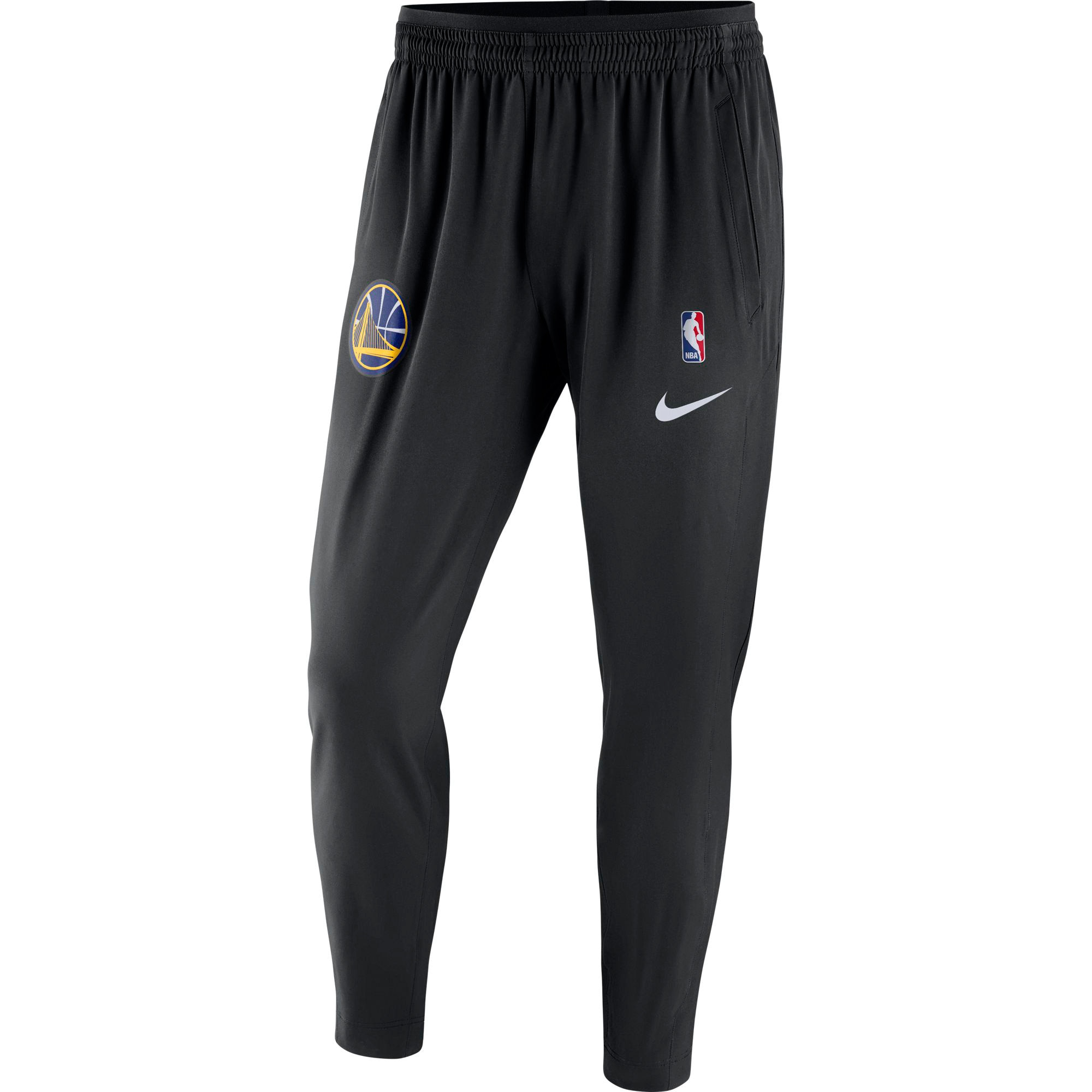 Golden State Warriors Nike Showtime Performance Pants - Black